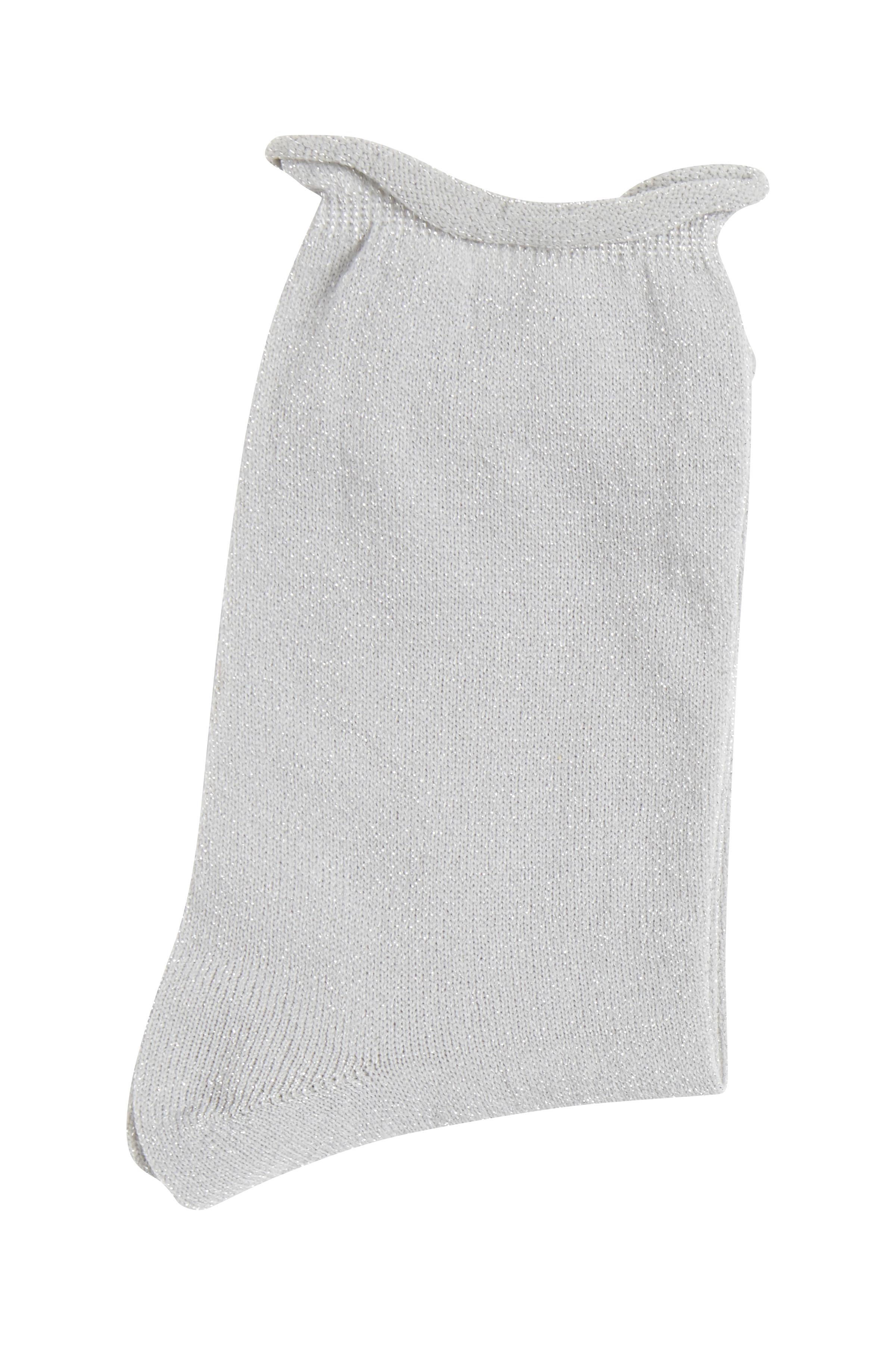 Lys gråmeleret Strømper fra Ichi - accessories – Køb Lys gråmeleret Strømper fra str. ONE her