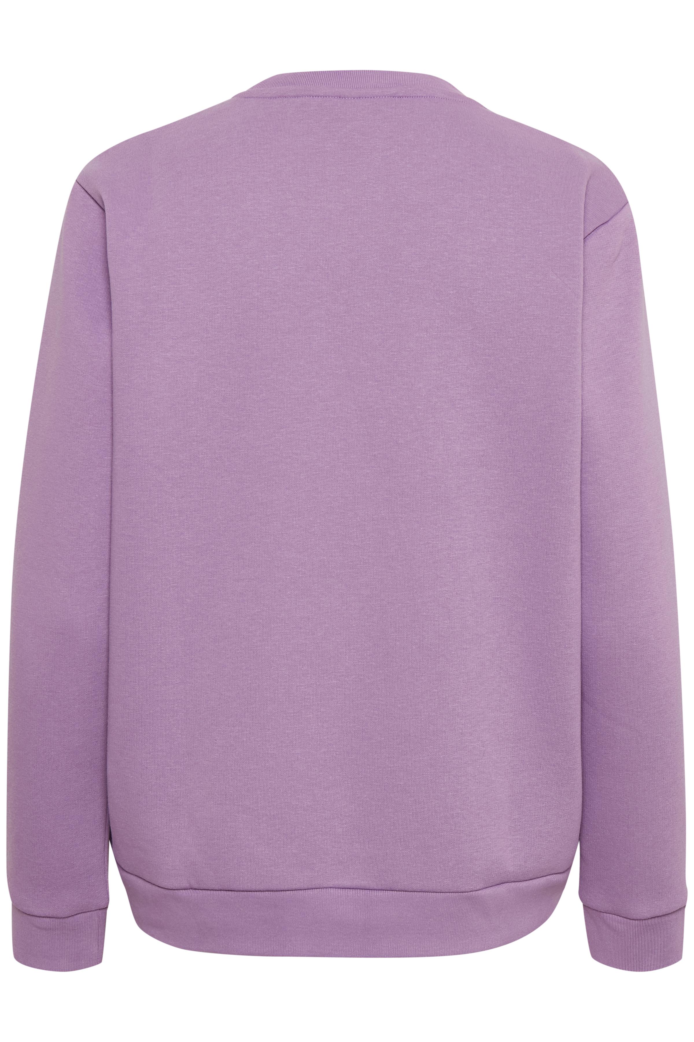 Lys lilla Sweatshirt fra b.young – Køb Lys lilla Sweatshirt fra str. XS-XXL her