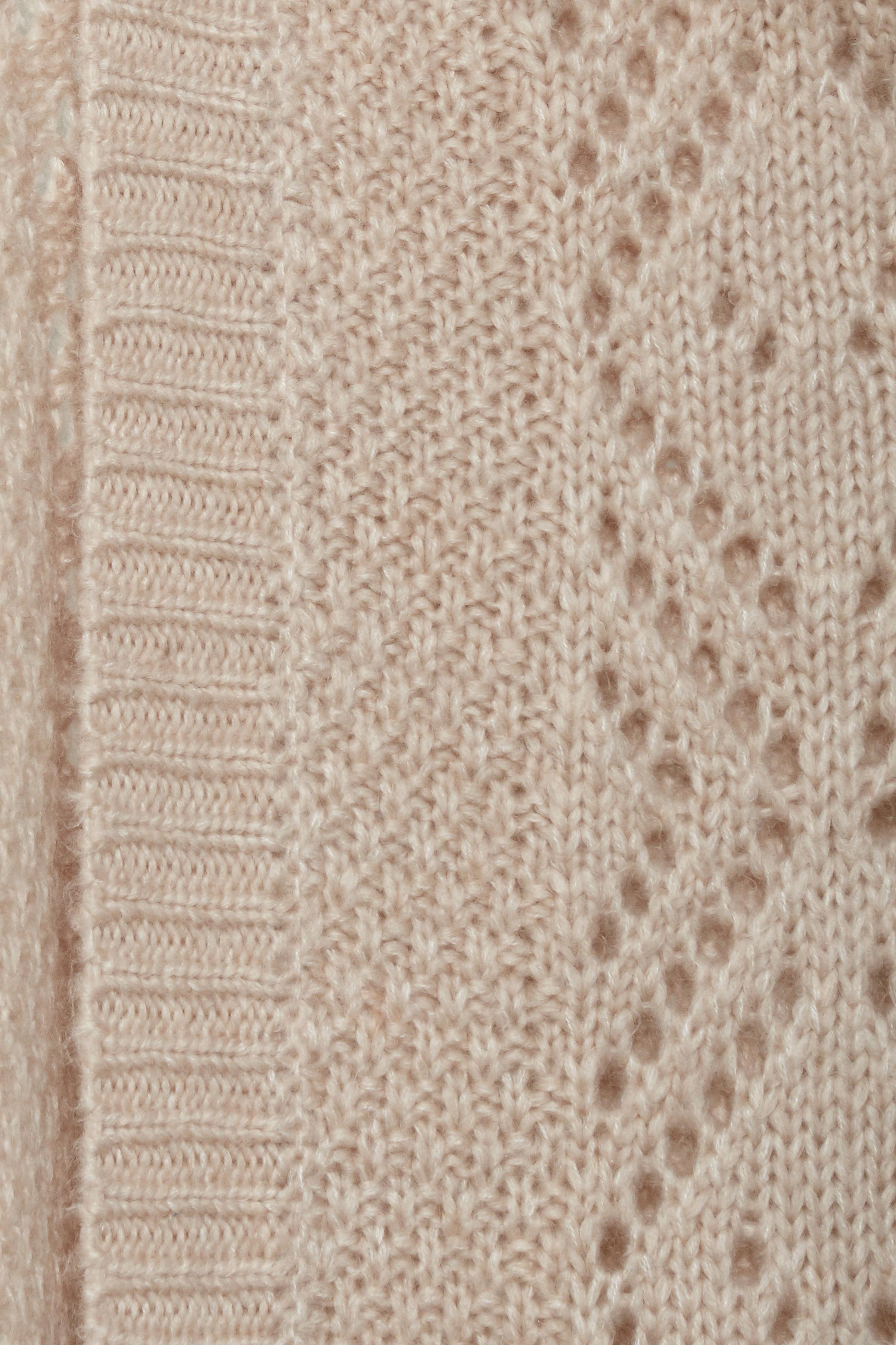 Lys rosameleret Cardigan fra b.young – Køb Lys rosameleret Cardigan fra str. XS-XXL her