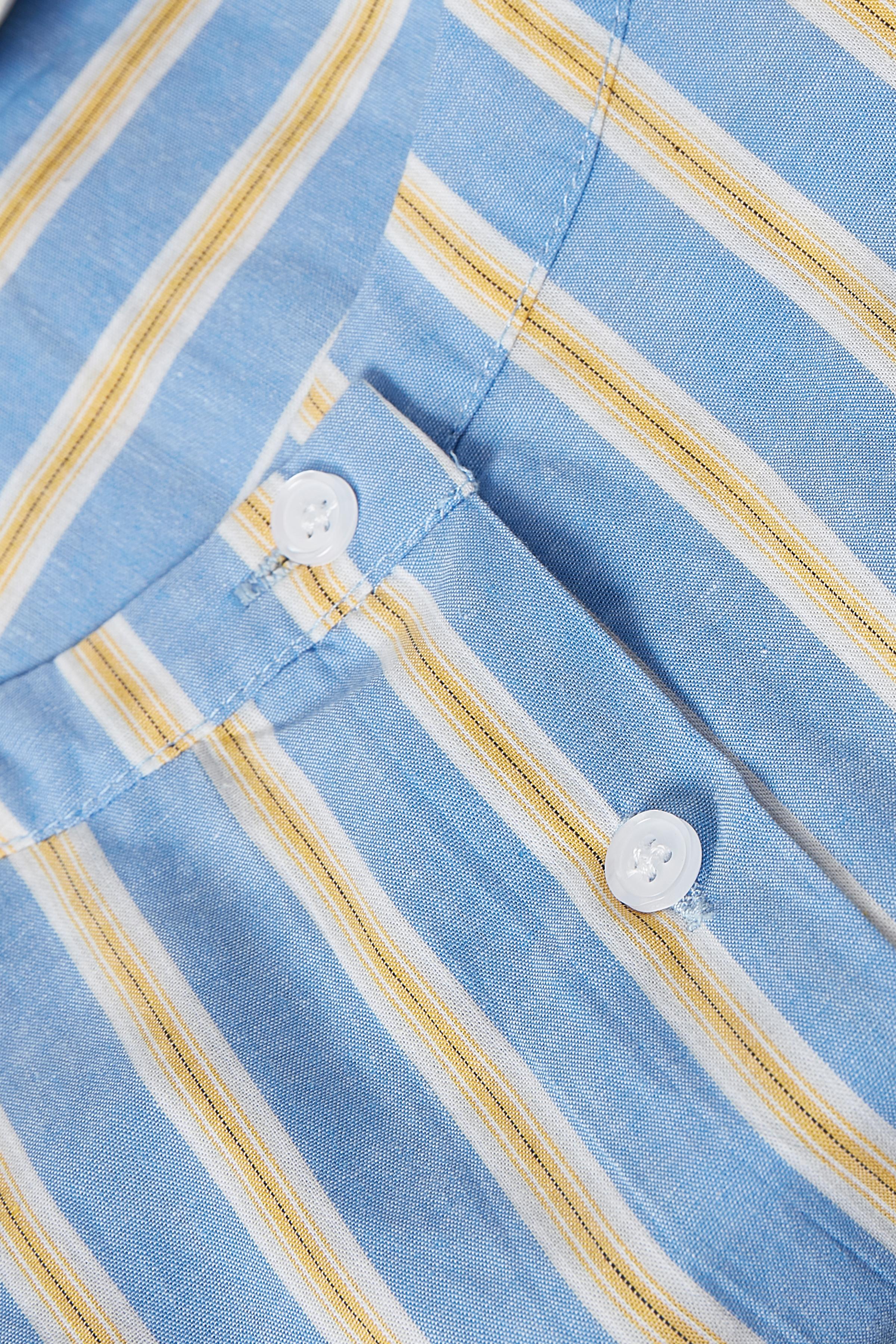 Lyseblå/gul Langærmet skjorte fra Kaffe – Køb Lyseblå/gul Langærmet skjorte fra str. 34-46 her