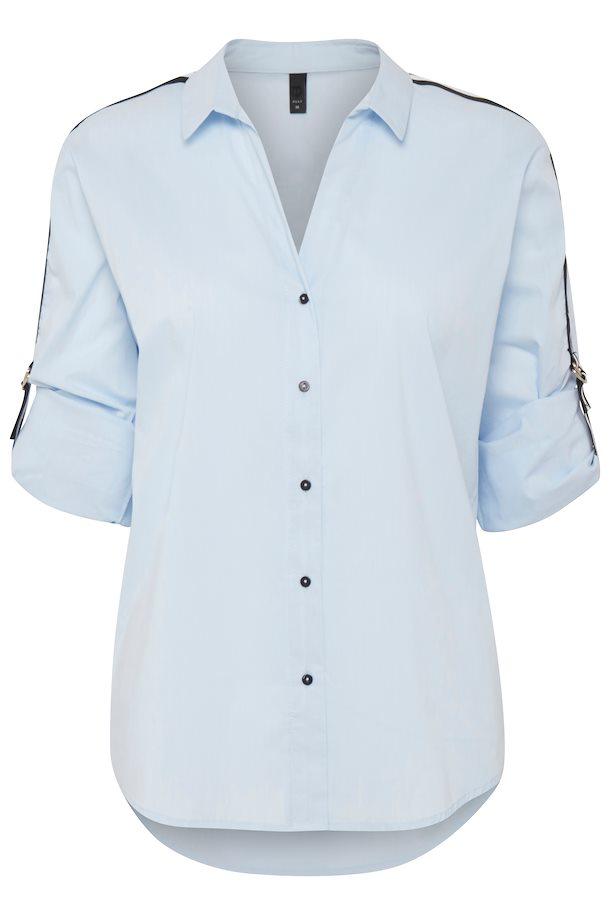 4995ac7f162 Lyseblå Langærmet skjorte fra Pulz Jeans – Køb Lyseblå Langærmet skjorte  fra str. XS-XXL her