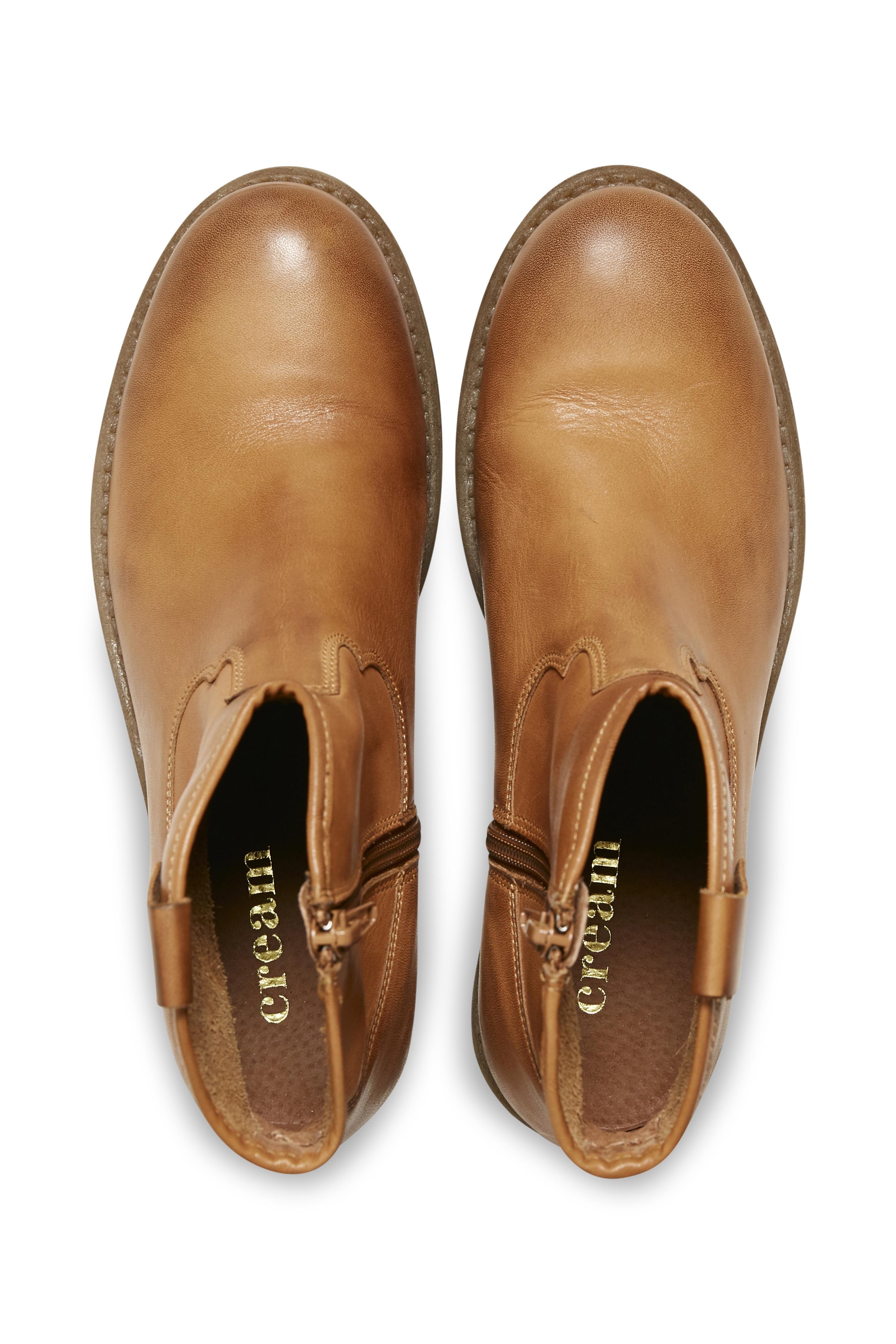 Lysebrun Støvler fra Cream Accessories – Køb Lysebrun Støvler fra str. 36-41 her