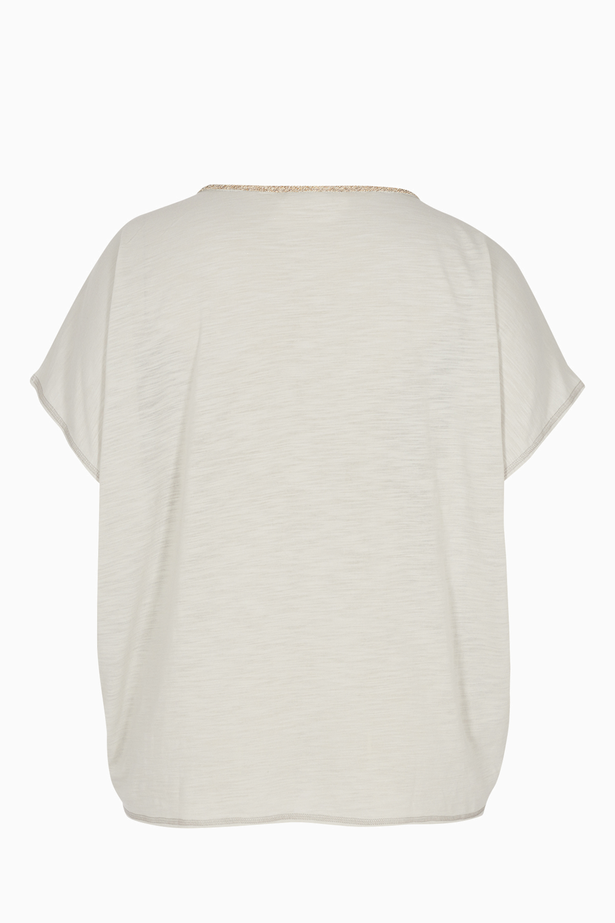 Lysegrå Kortærmet T-shirt fra Zizzi – Køb Lysegrå Kortærmet T-shirt fra str. 42-44-54-56 her