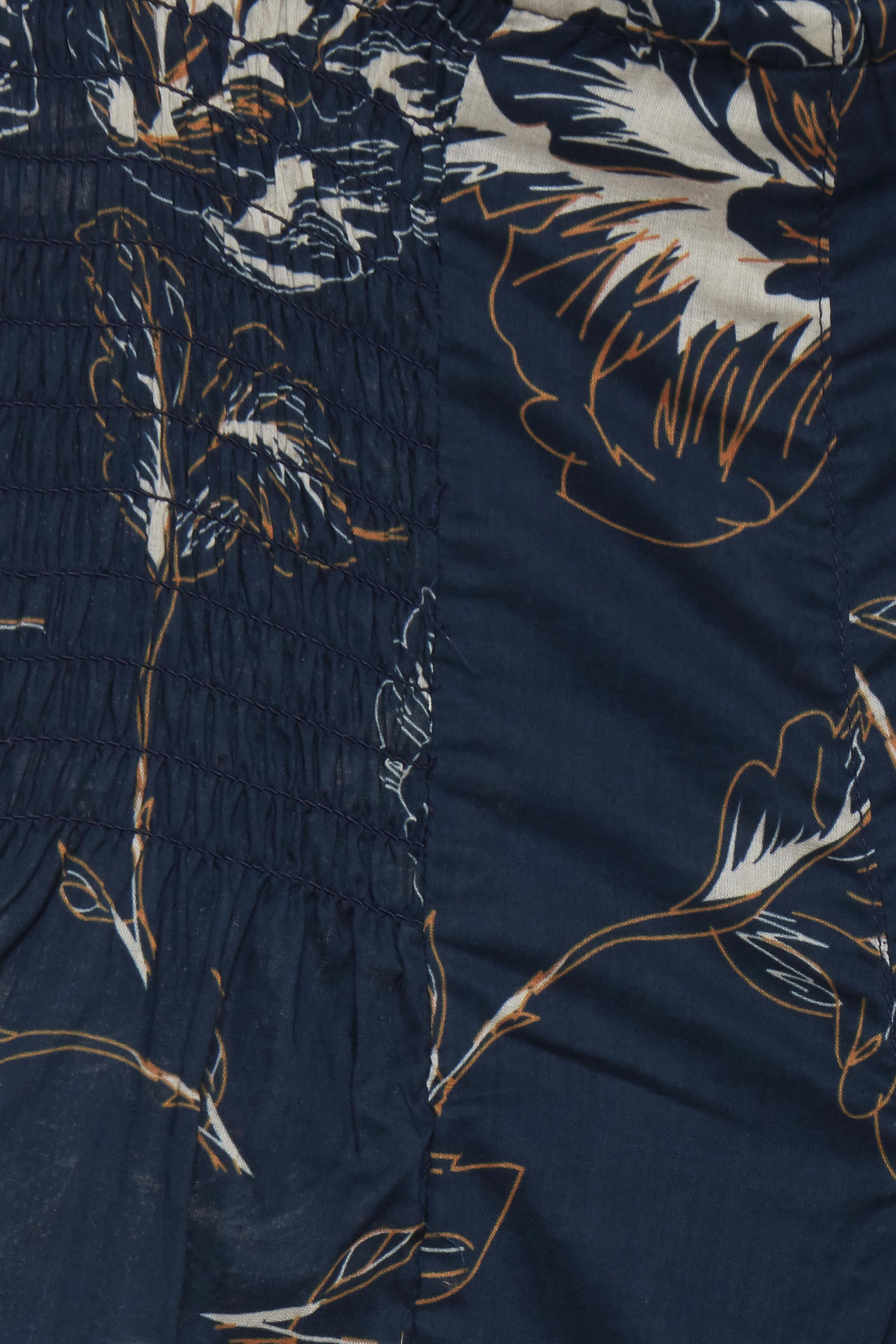 Marinblå/ljus sand Byxor från Pulz Jeans – Köp Marinblå/ljus sand Byxor från stl. XS-XXL här