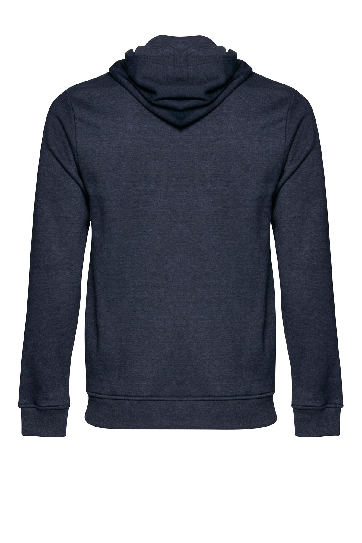 Marinblå melerad Sweatshirt från Blend He – Köp Marinblå melerad Sweatshirt från stl. S-3XL här