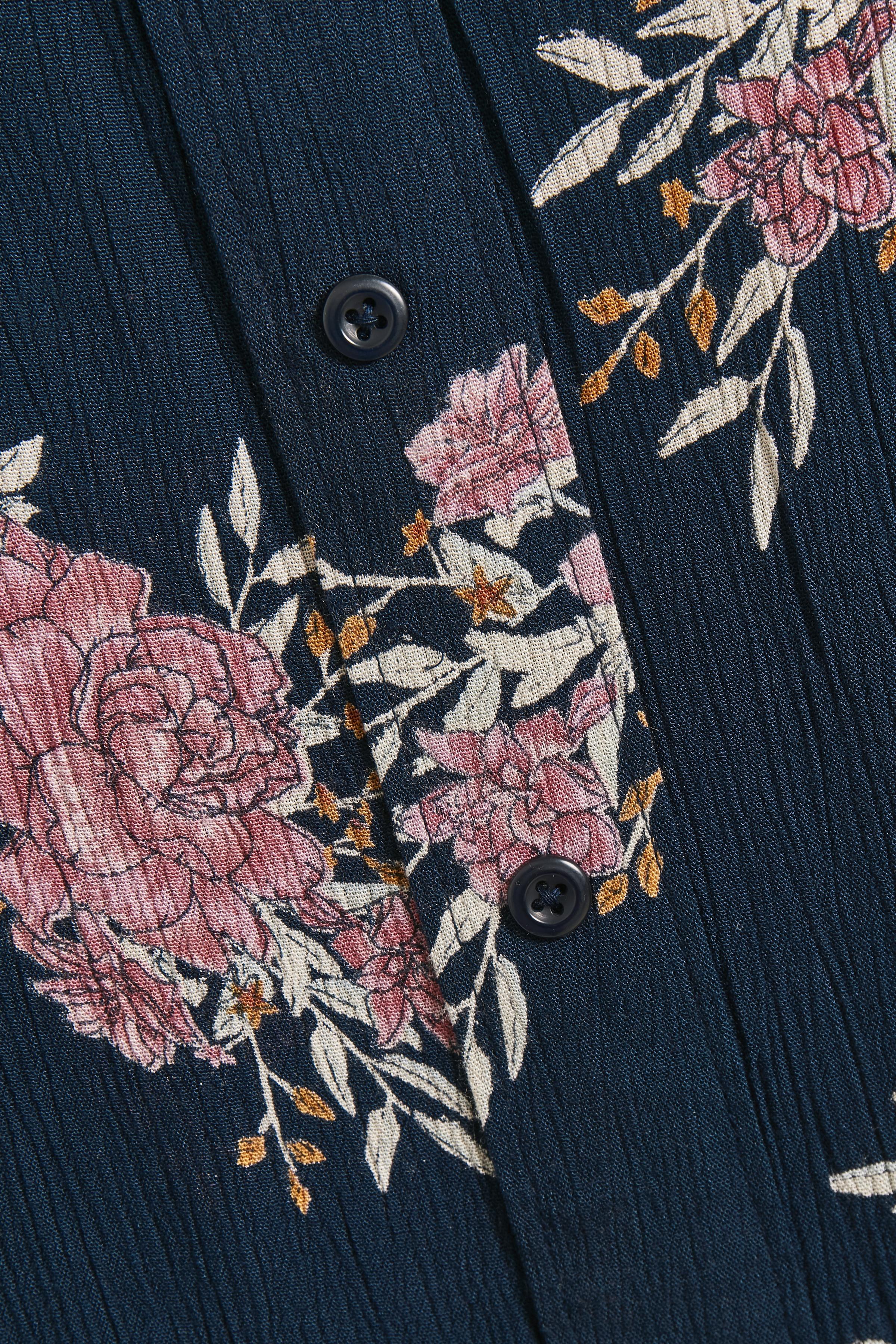Marinblå/rosa Klänning från Bon'A Parte – Köp Marinblå/rosa Klänning från stl. S-2XL här