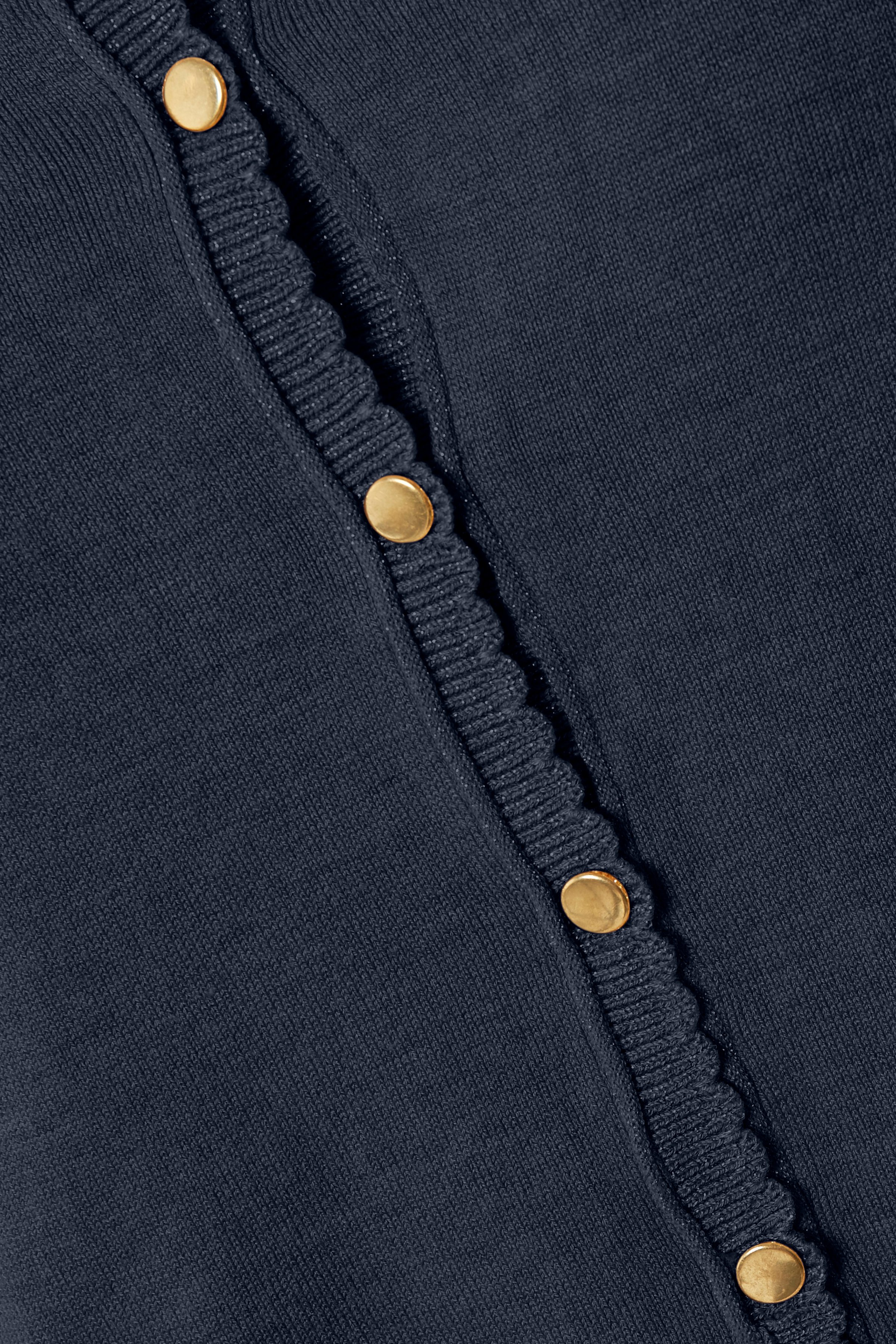 Marinblå Stickad cardigan från Cream – Köp Marinblå Stickad cardigan från stl. XS-XXL här