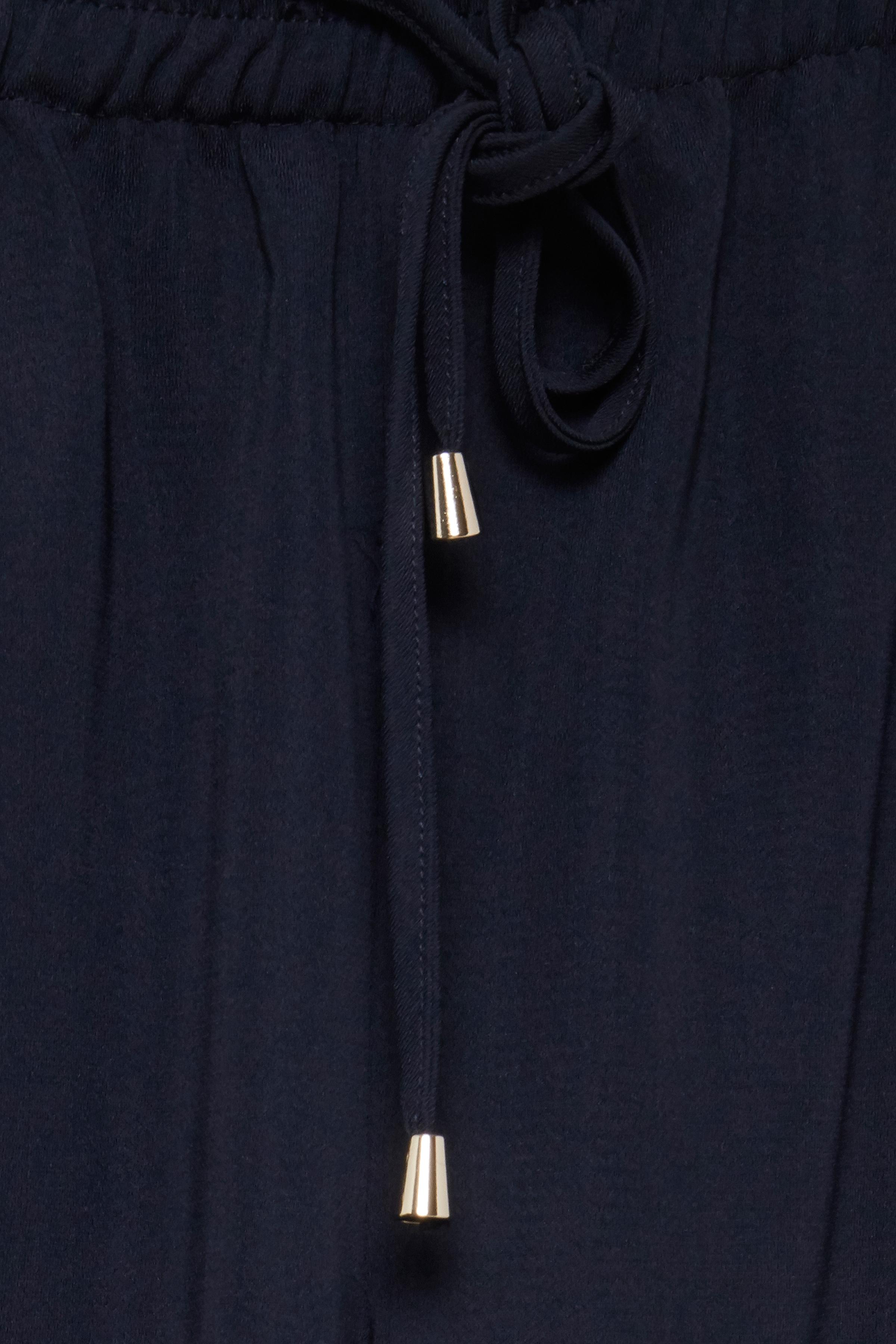 Marineblå Ankelbuks fra Fransa – Køb Marineblå Ankelbuks fra str. XS-XXL her
