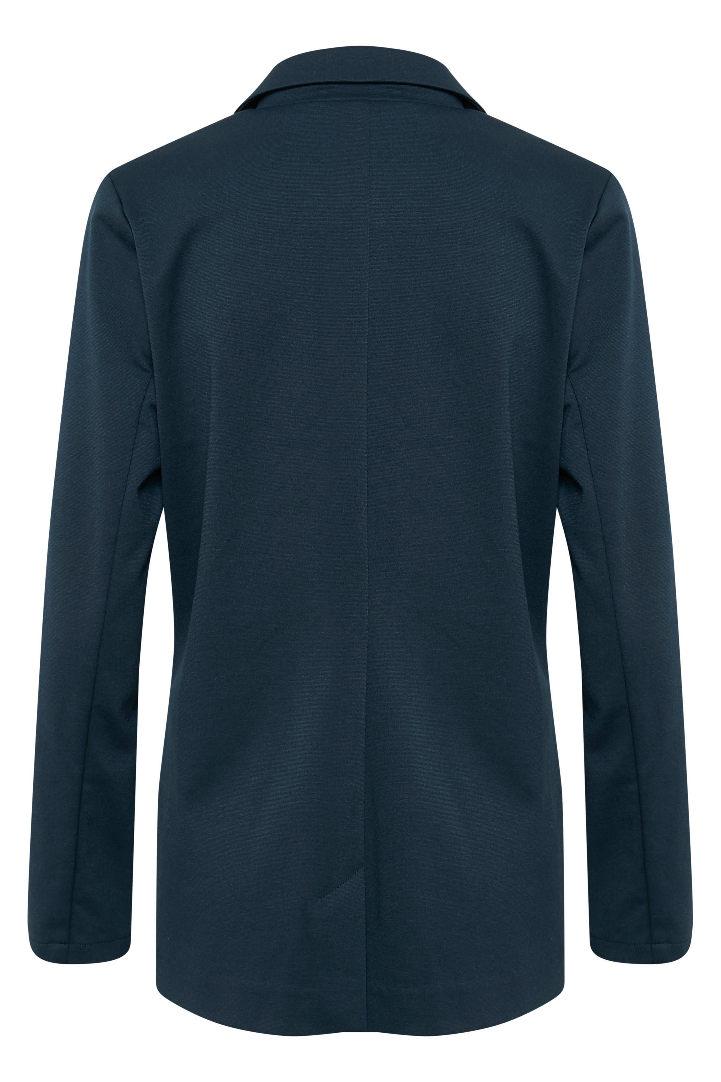Marineblå Blazer fra Bon'A Parte – Køb Marineblå Blazer fra str. 36-48 her