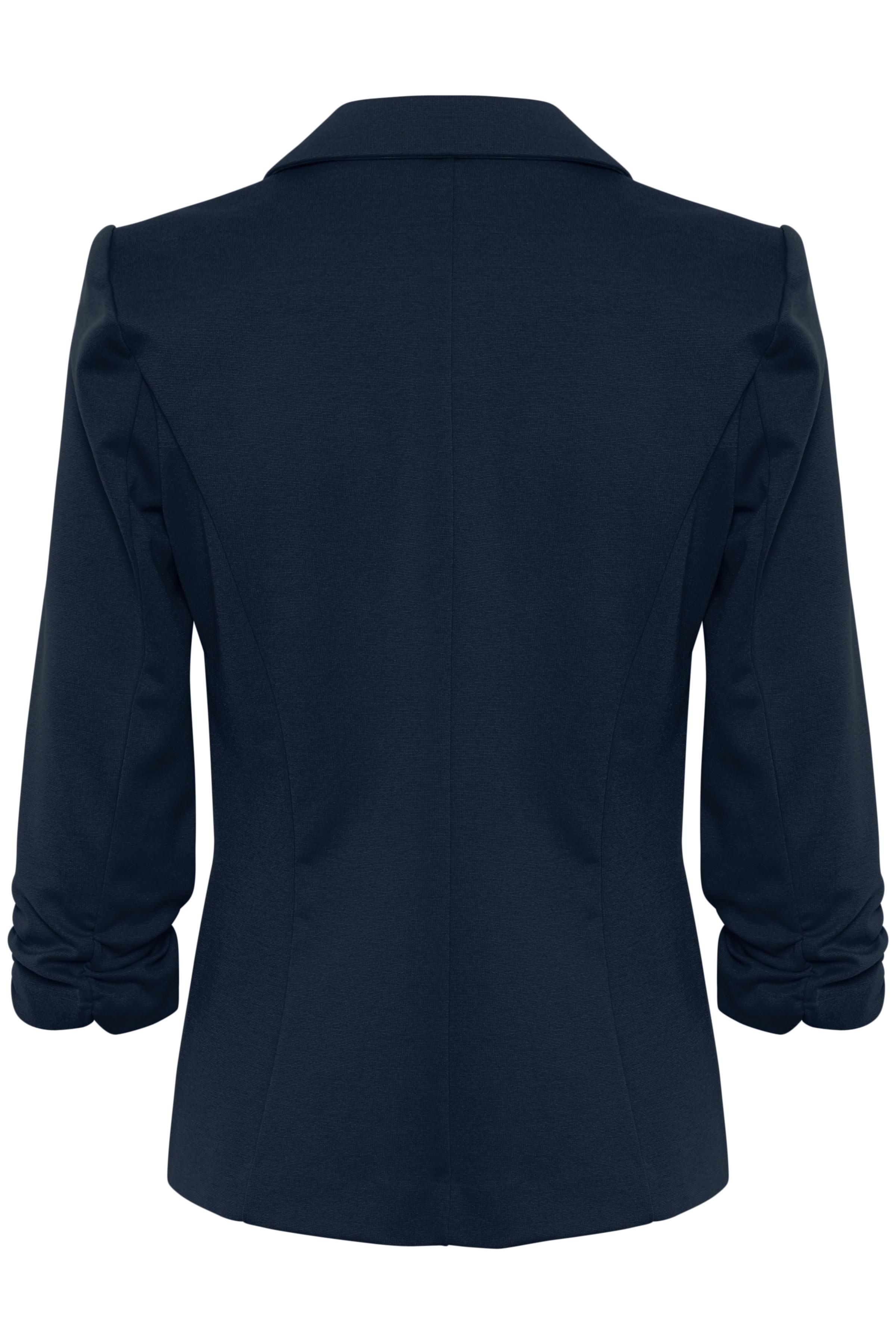 Marineblå Blazer fra Fransa – Køb Marineblå Blazer fra str. XS-XXL her