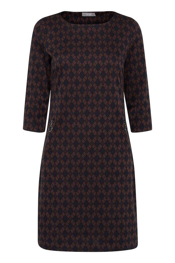 04c993f52acc Marineblå brun Kjole fra Fransa – Køb Marineblå brun Kjole fra str. XS-XXL  her