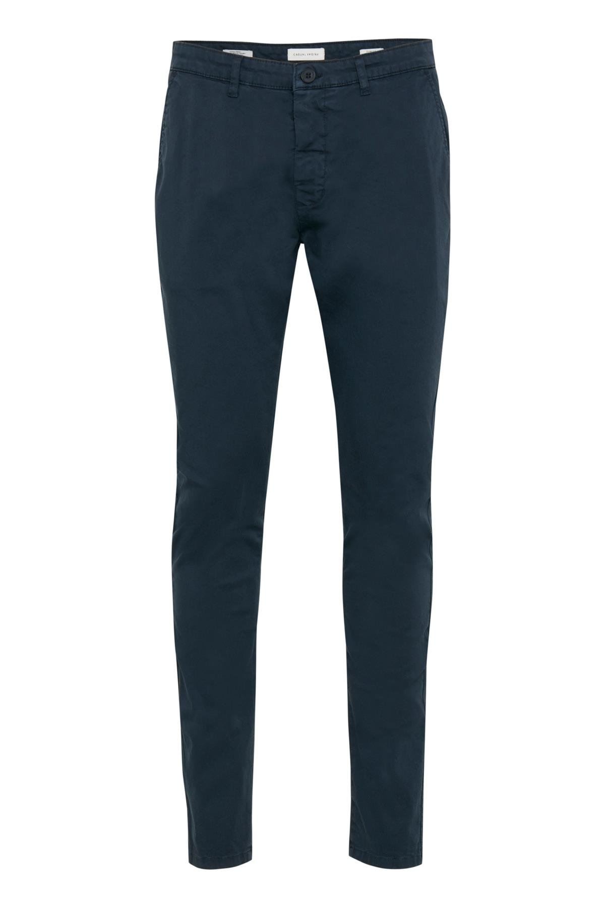 Image of Casual Friday Herre Slim-fit chinos - Marineblå