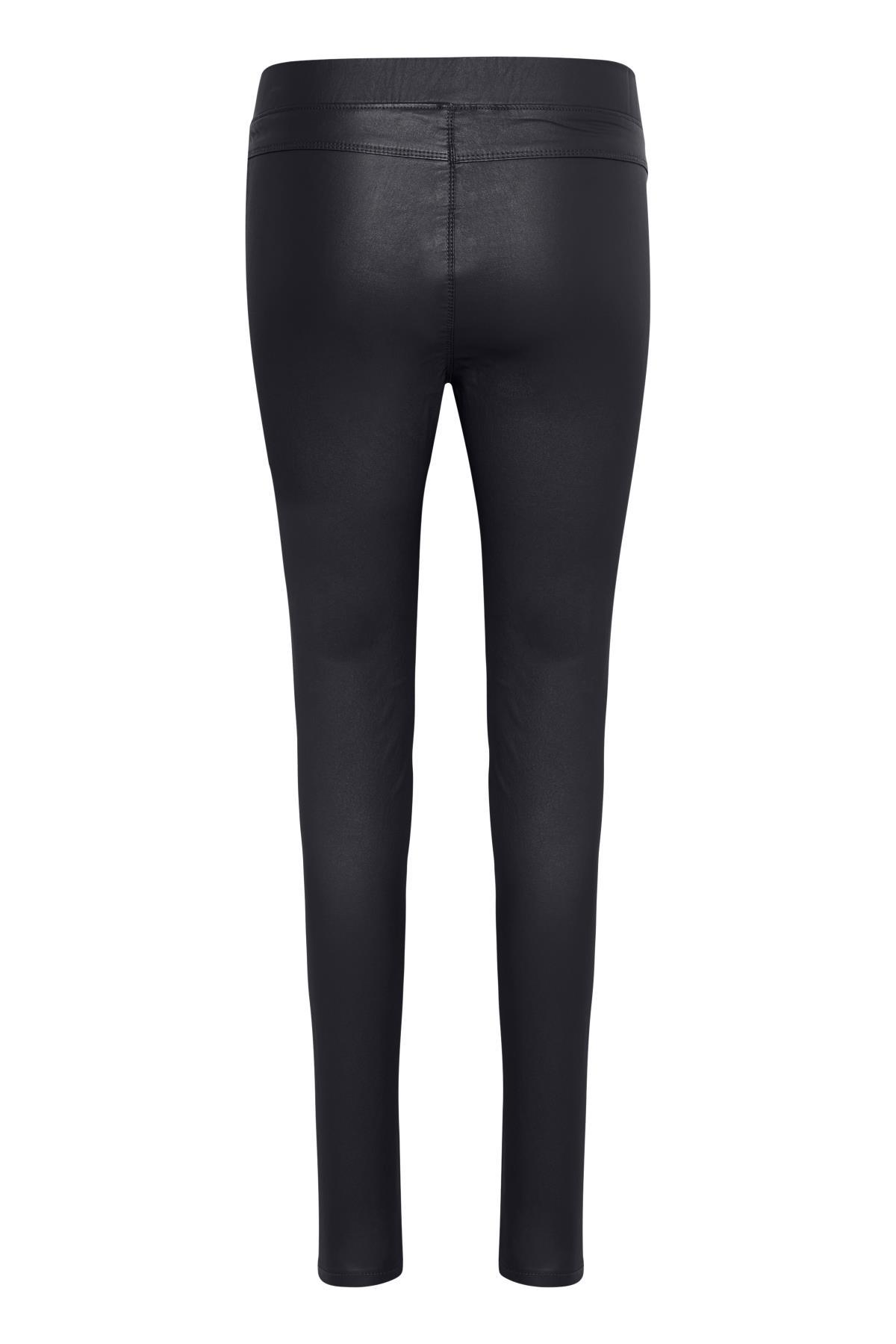 Marineblå Casual bukser fra Kaffe – Køb Marineblå Casual bukser fra str. 34-46 her