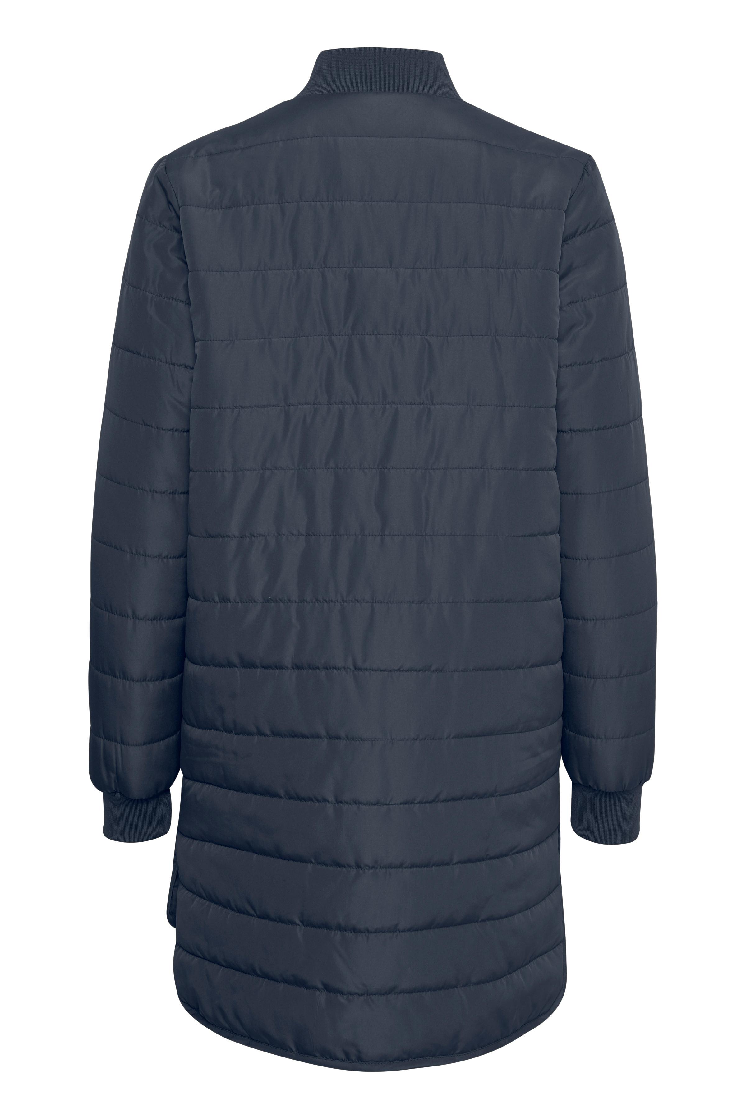 Marineblå Frakke fra Bon'A Parte – Køb Marineblå Frakke fra str. S-2XL her