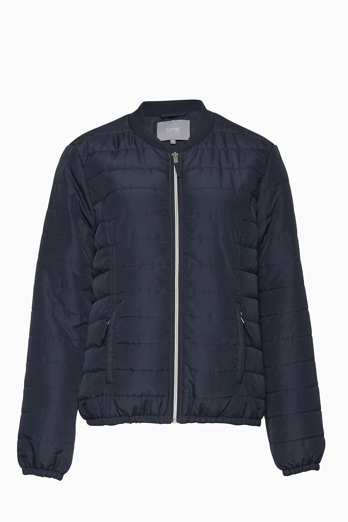 Marineblå Frakke fra b.young – Køb Marineblå Frakke fra str. 34-46 her