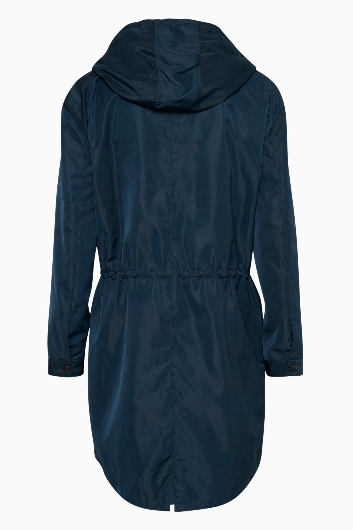 Marineblå Frakke fra Bon'A Parte – Køb Marineblå Frakke fra str. S-3XL her