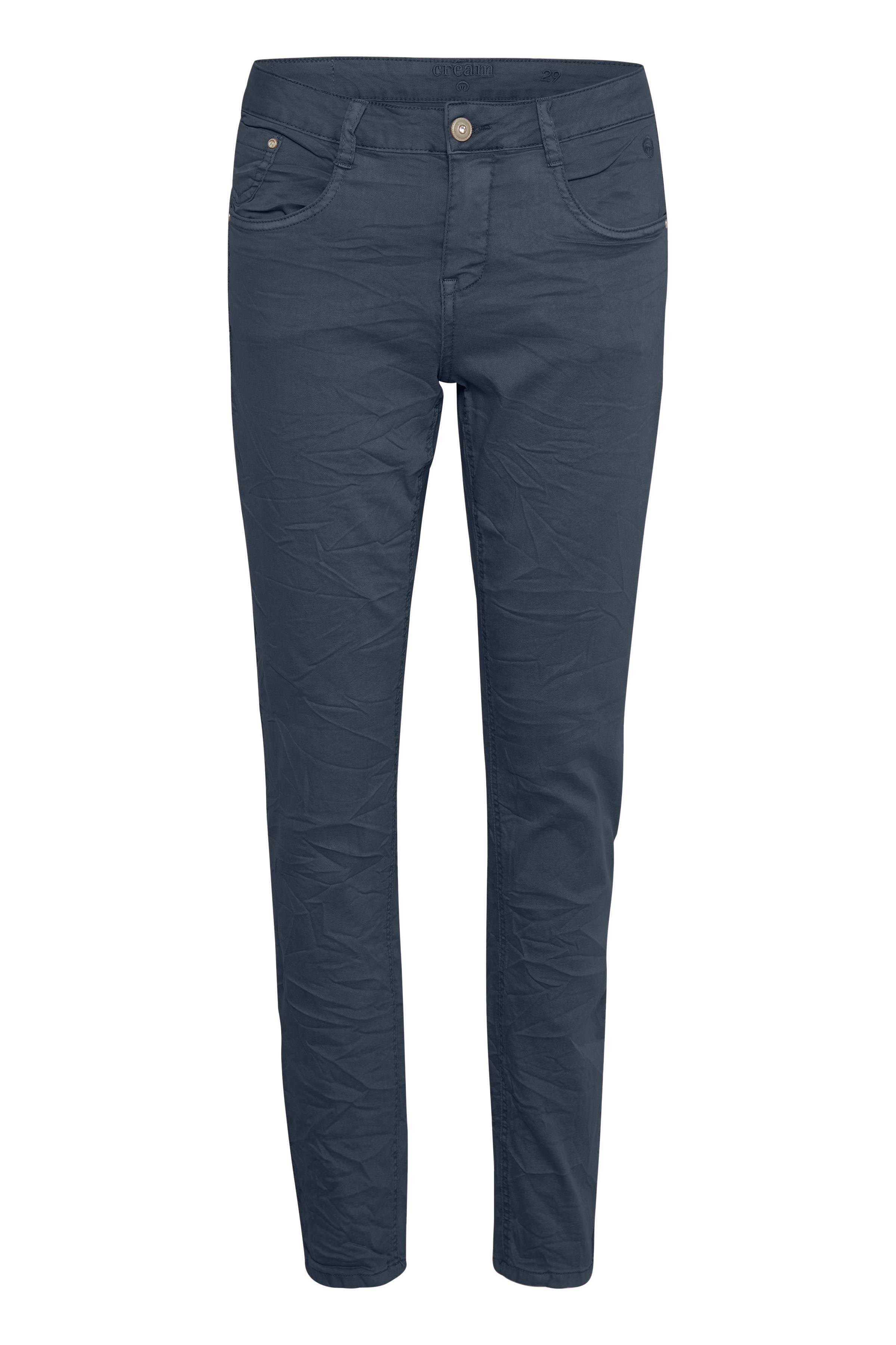 Cream Dame Normal pasformet Lotte jeans  - Marineblå