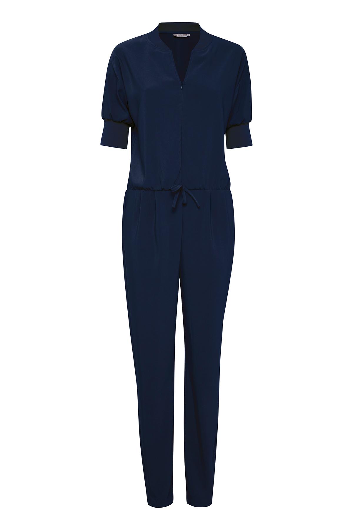 Fransa Dame Jumpsuit - Marineblå