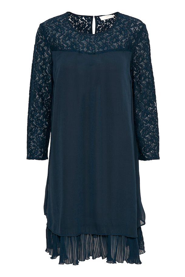d70a0ebf2bb7 Marineblå Kjole fra Cream – Køb Marineblå Kjole fra str. 34-46 her