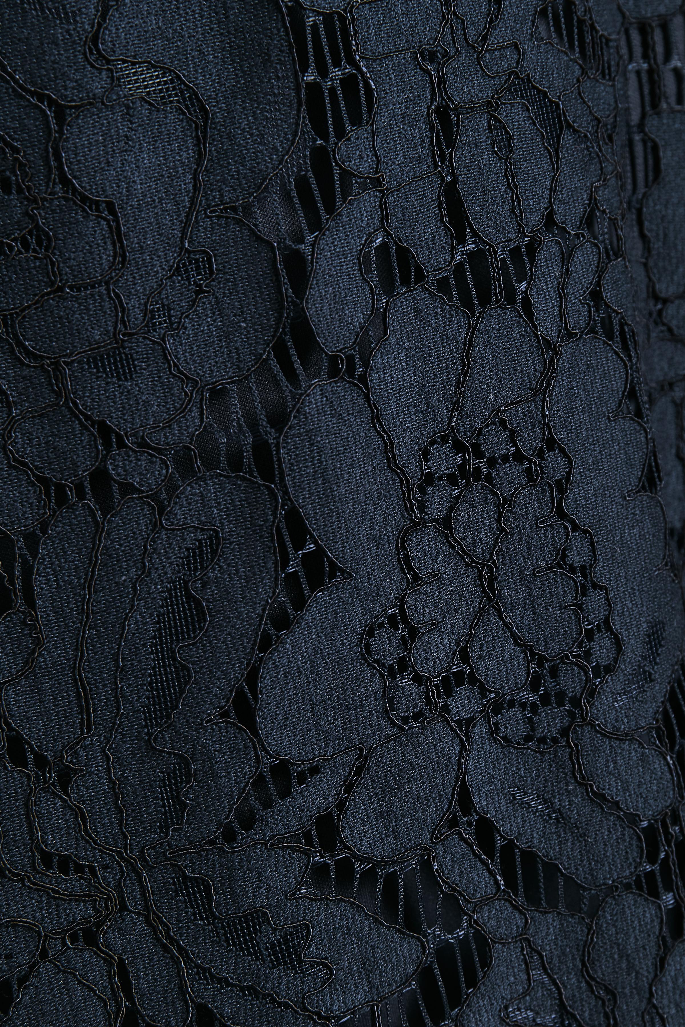 Marineblå Kjole fra Bon'A Parte – Køb Marineblå Kjole fra str. S-2XL her