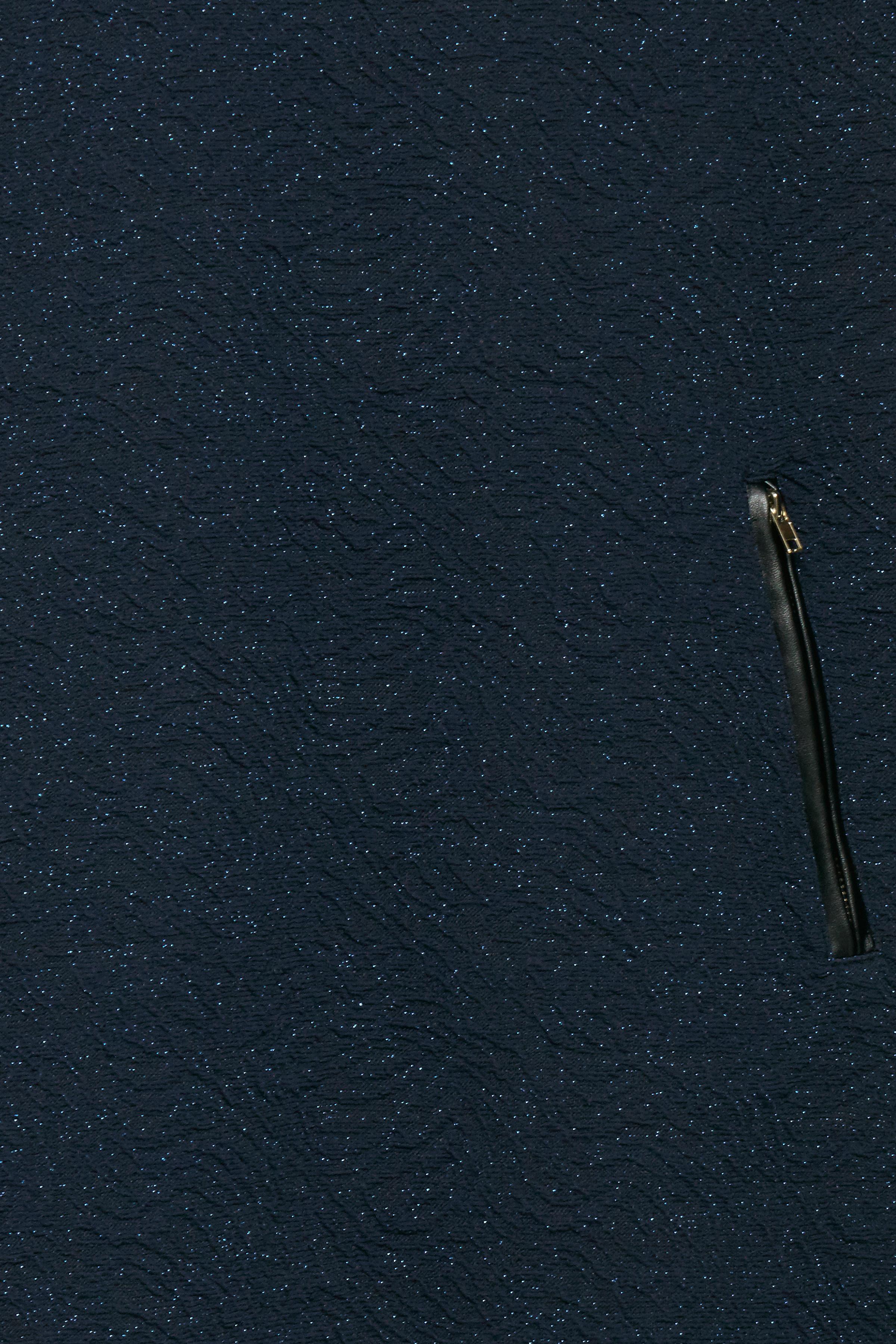 Marineblå Kjole fra Fransa – Køb Marineblå Kjole fra str. XS-XXL her