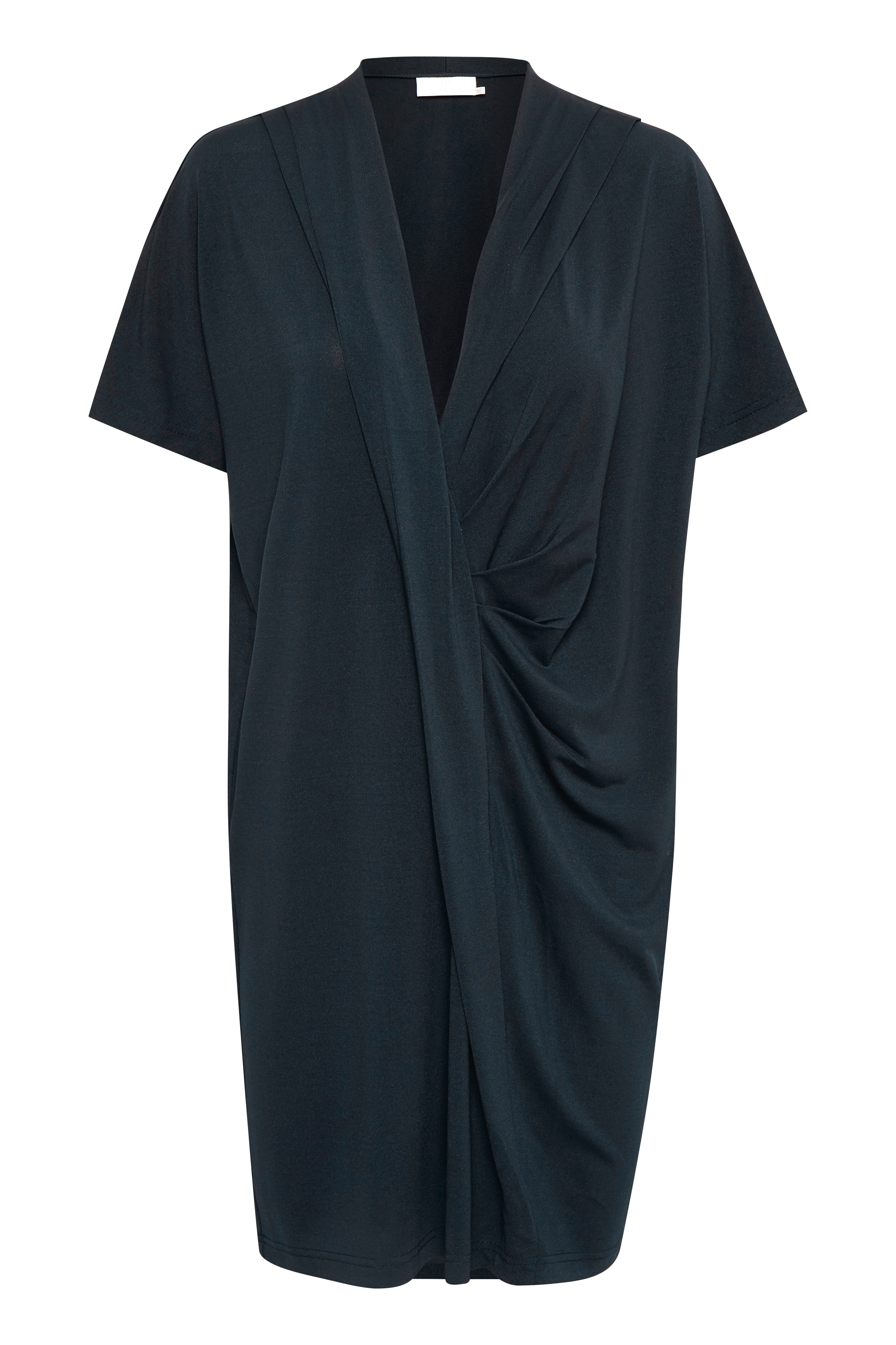 Kaffe Dame Kortærmet kjole - Marineblå