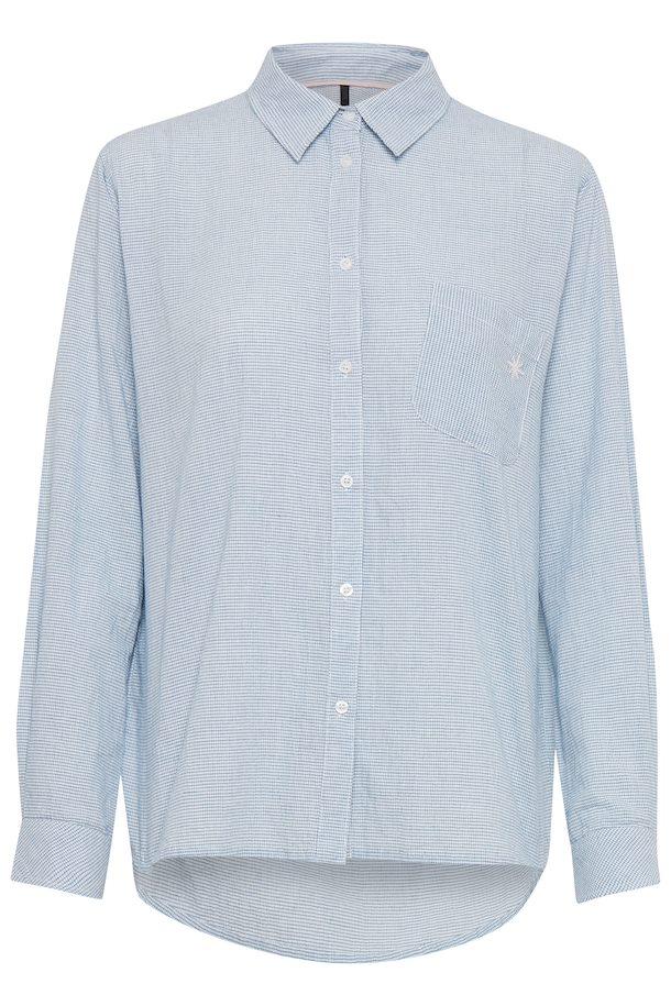04bdc1b1baa Marineblå Langærmet skjorte fra Pulz Jeans – Køb Marineblå Langærmet skjorte  fra str. XS-XXL her