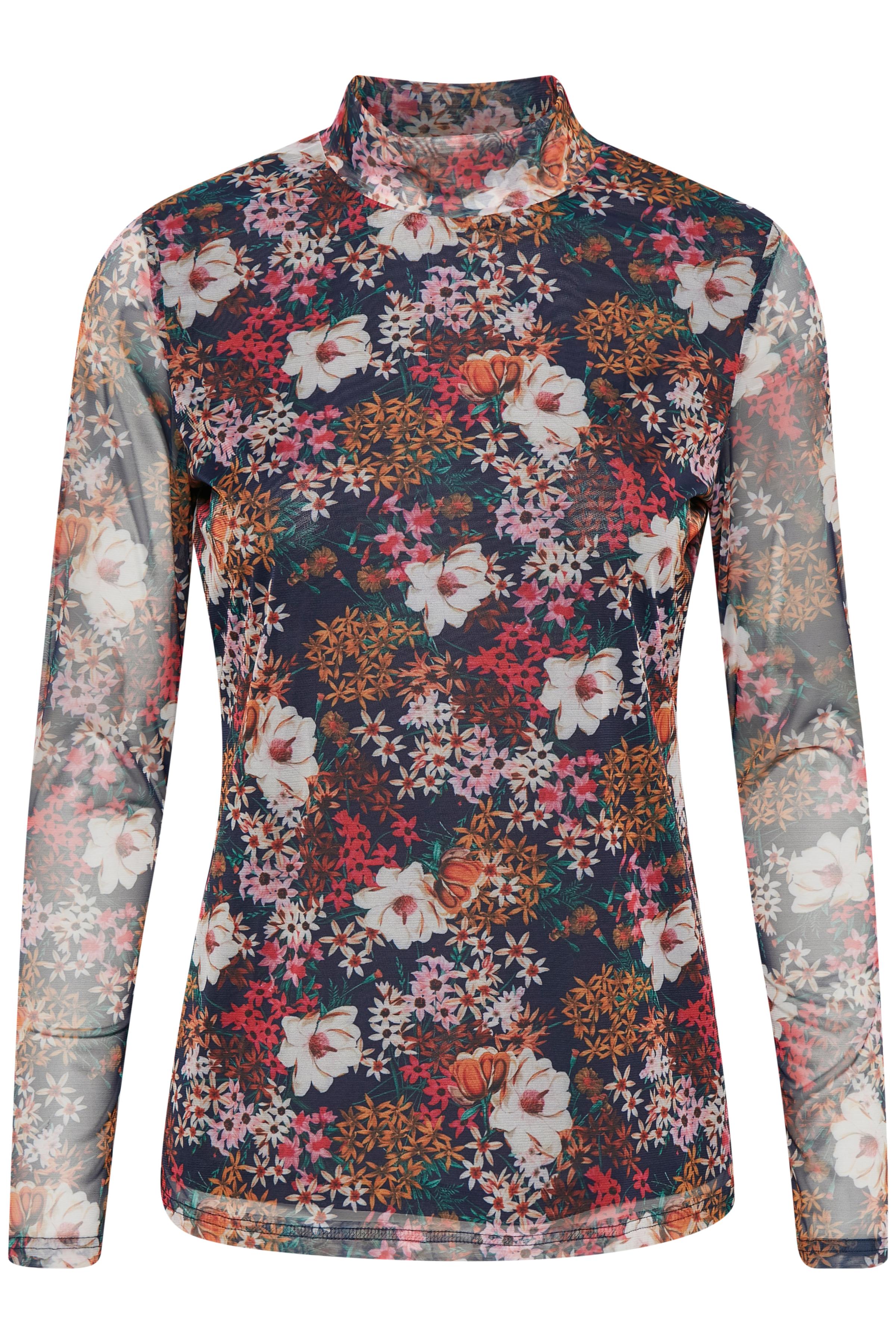 Marineblå Langærmet T-shirt fra Kaffe – Køb Marineblå Langærmet T-shirt fra str. XS-XXL her