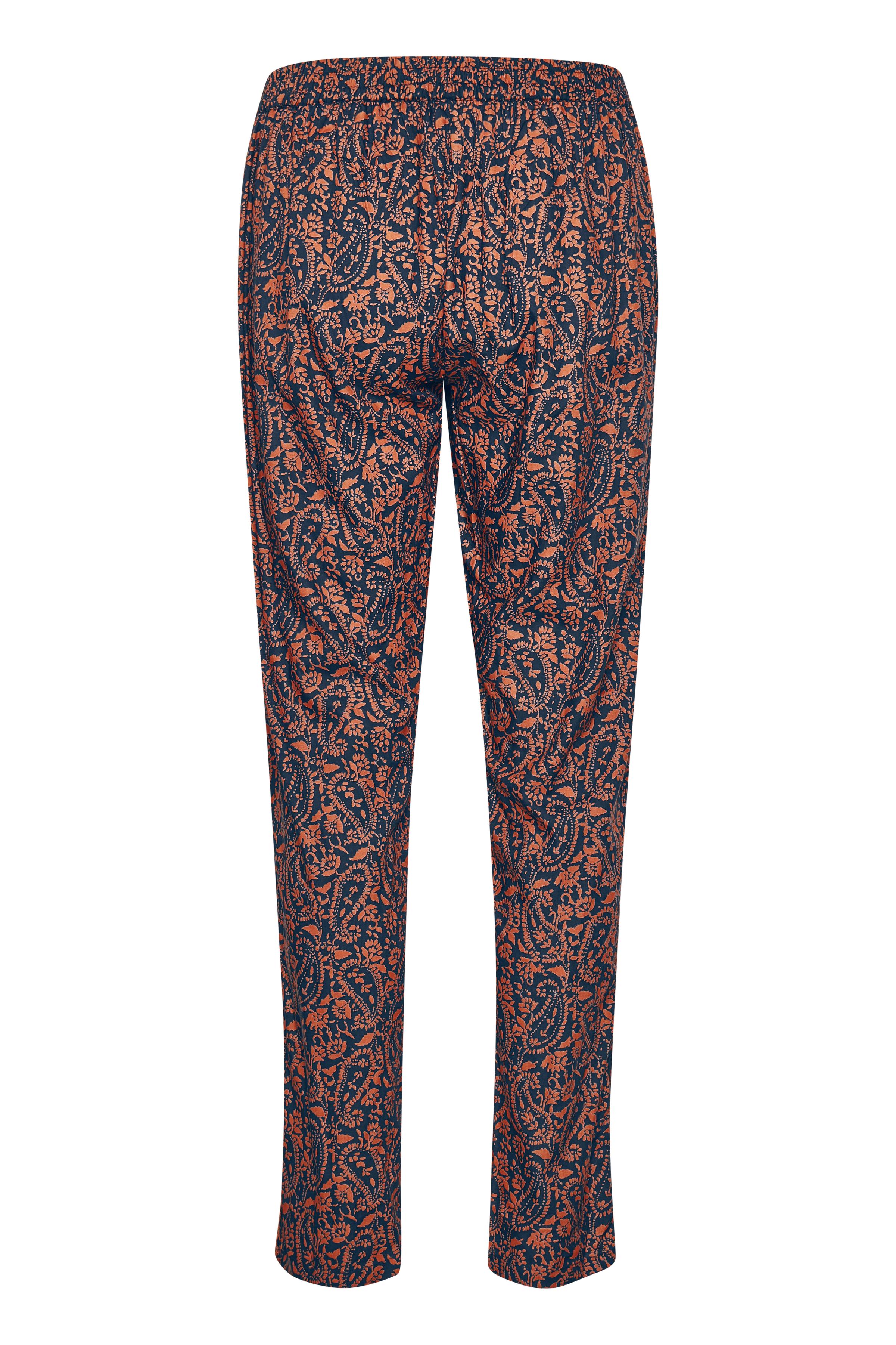 Marineblå/orange Buks fra Bon'A Parte – Køb Marineblå/orange Buks fra str. S-2XL her