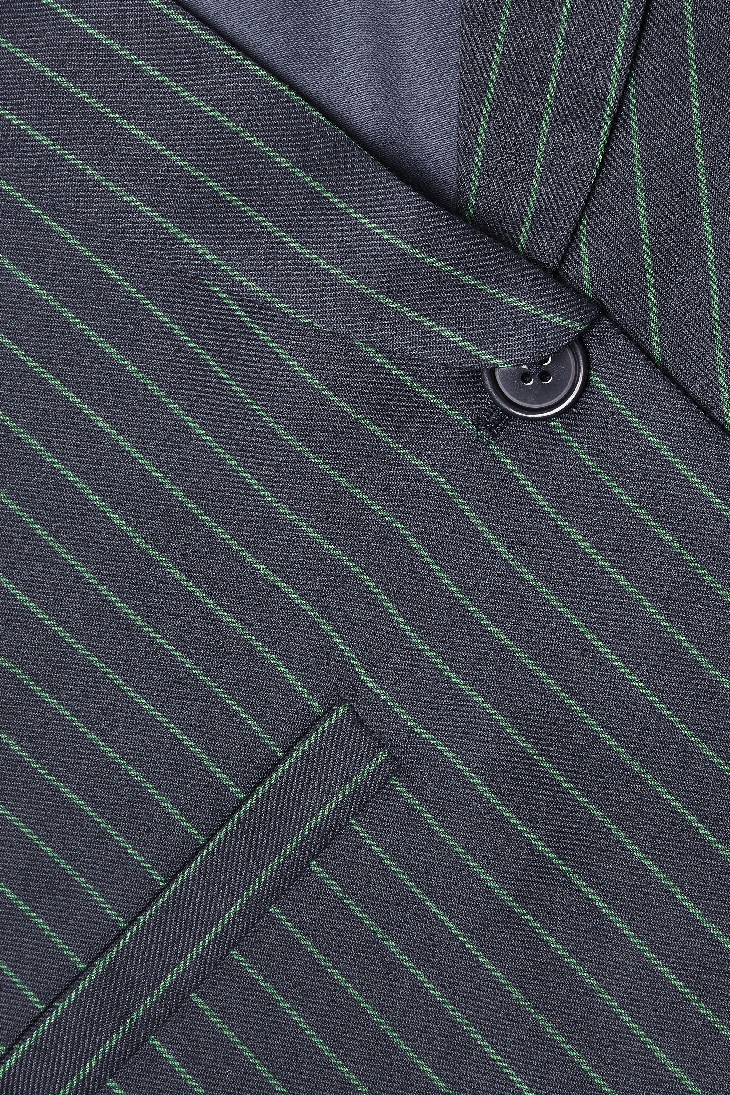 Marineblå/støvet grøn Blazer fra Kaffe – Køb Marineblå/støvet grøn Blazer fra str. 34-46 her