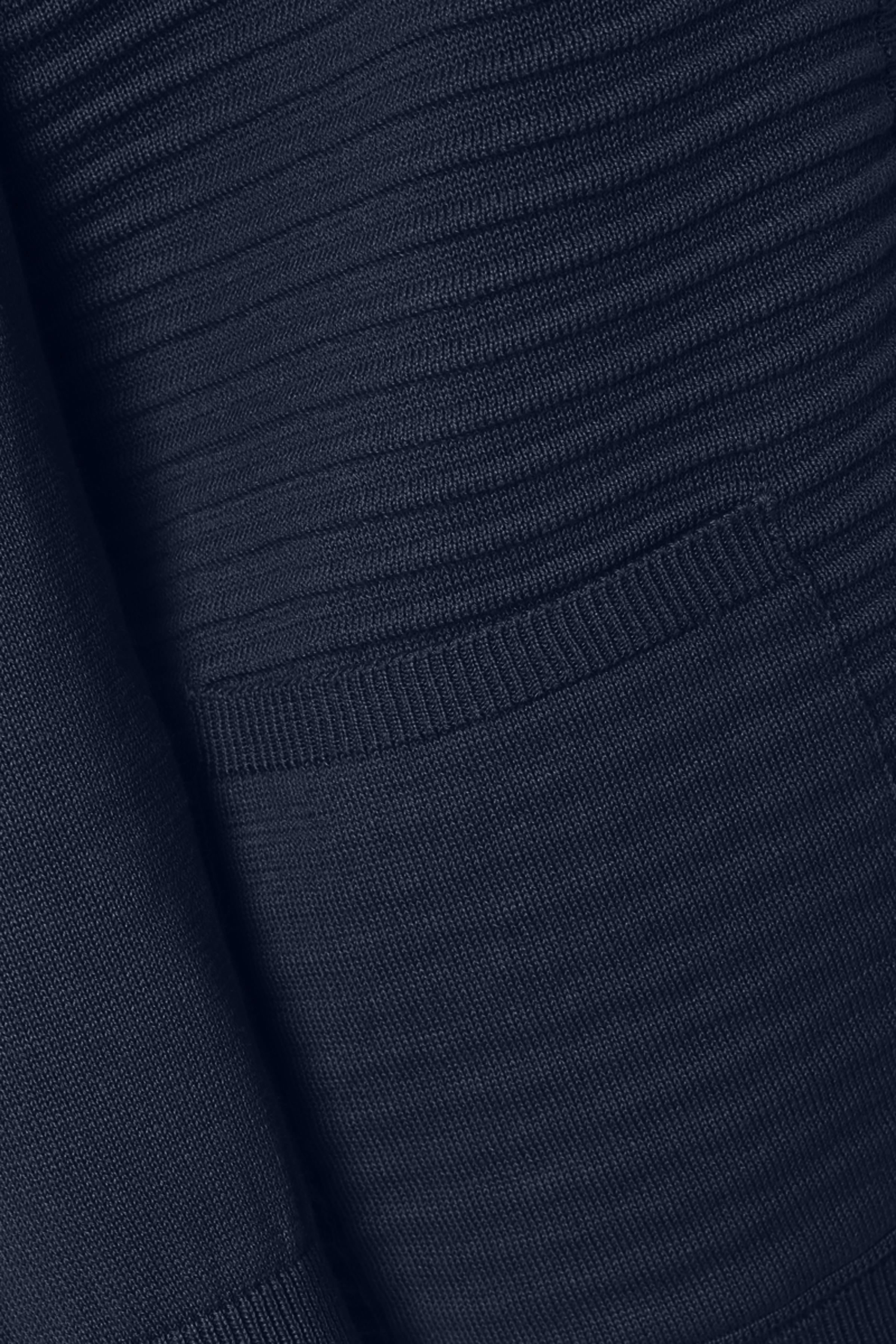Marineblå Strikcardigan fra Fransa – Køb Marineblå Strikcardigan fra str. XS-XXL her