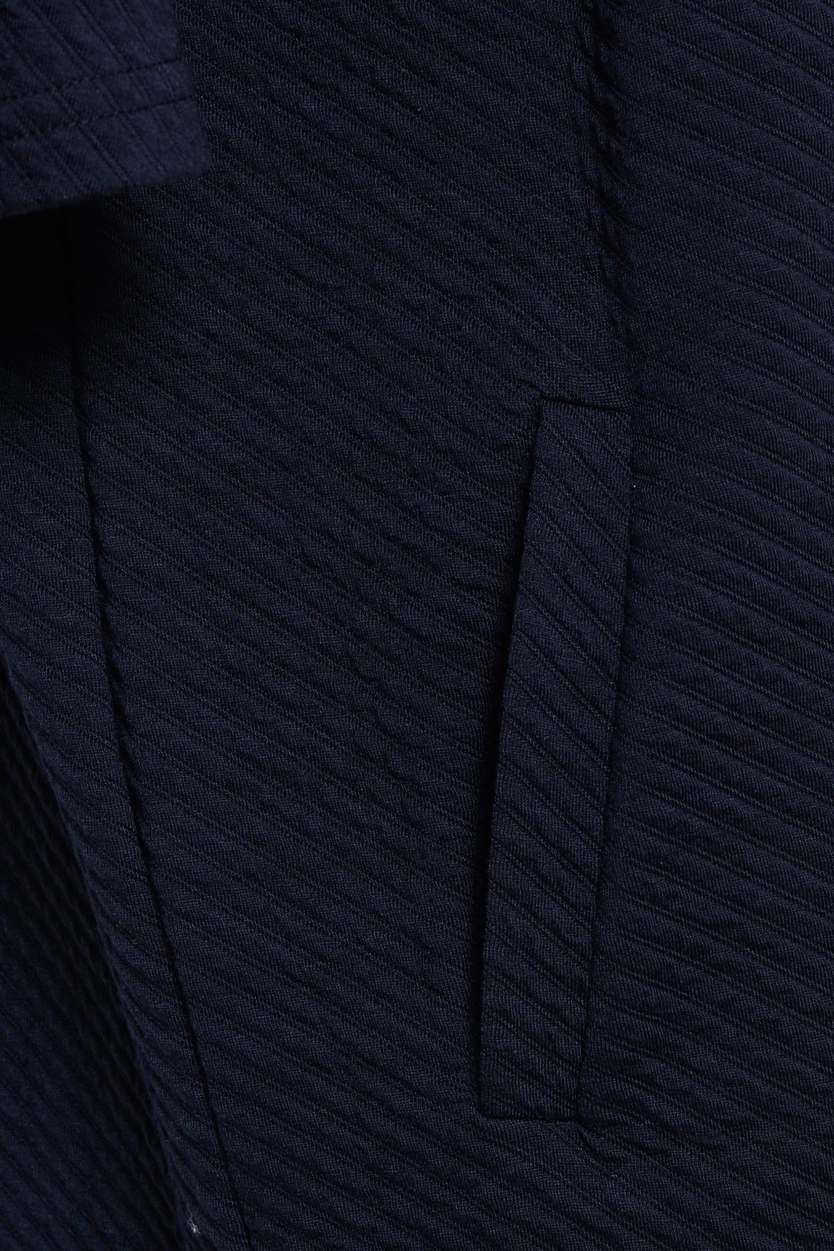 Marineblå Striktunika fra Kaffe – Køb Marineblå Striktunika fra str. XS-XXL her