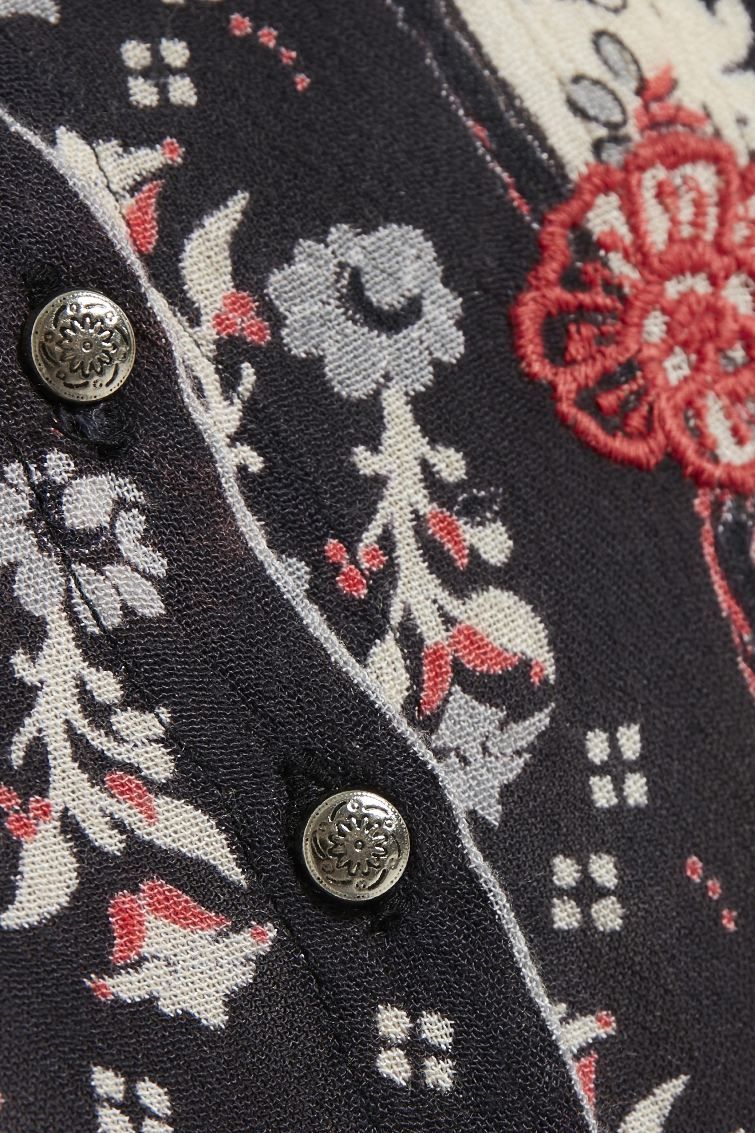 Marineblau/koralle Kleid von Bon'A Parte – Shoppen Sie Marineblau/koralle Kleid ab Gr. S-2XL hier