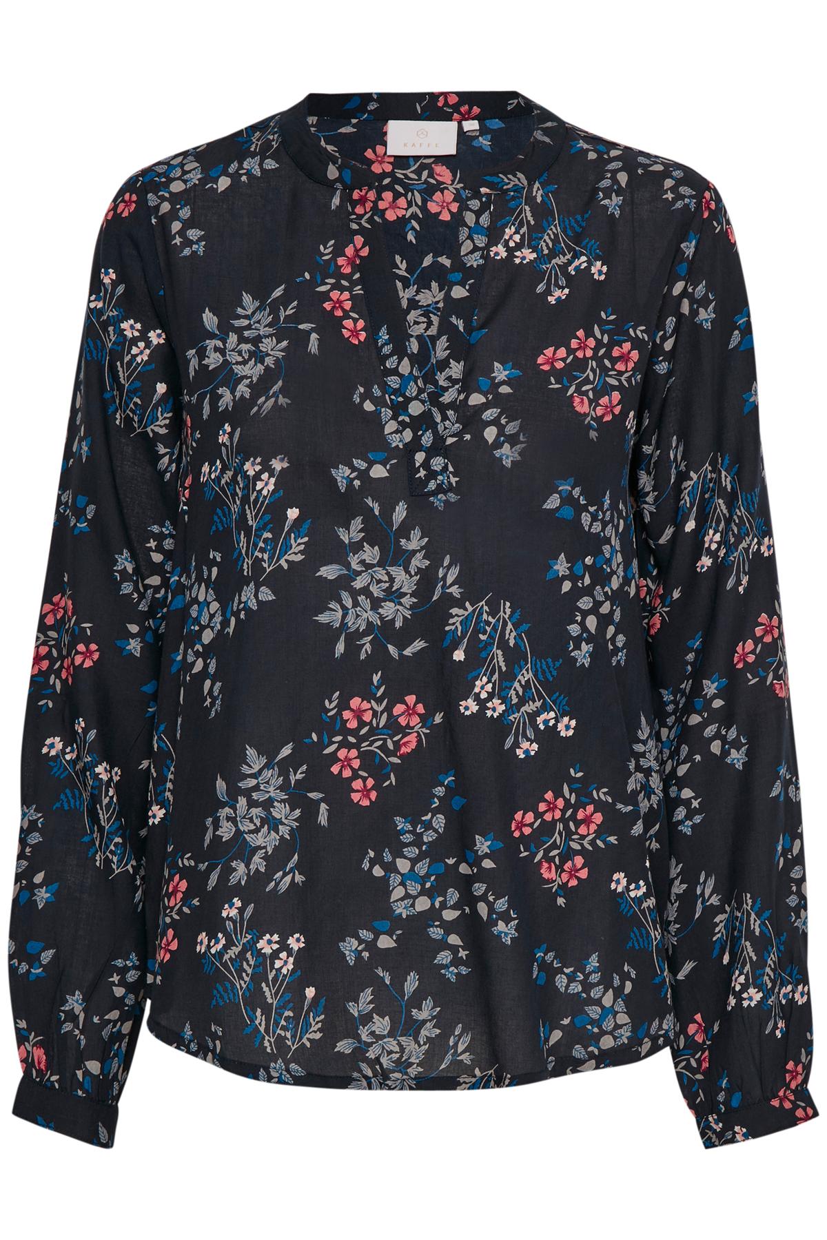 Marineblau Langarm-Bluse von Kaffe – Shoppen SieMarineblau Langarm-Bluse ab Gr. 34-46 hier