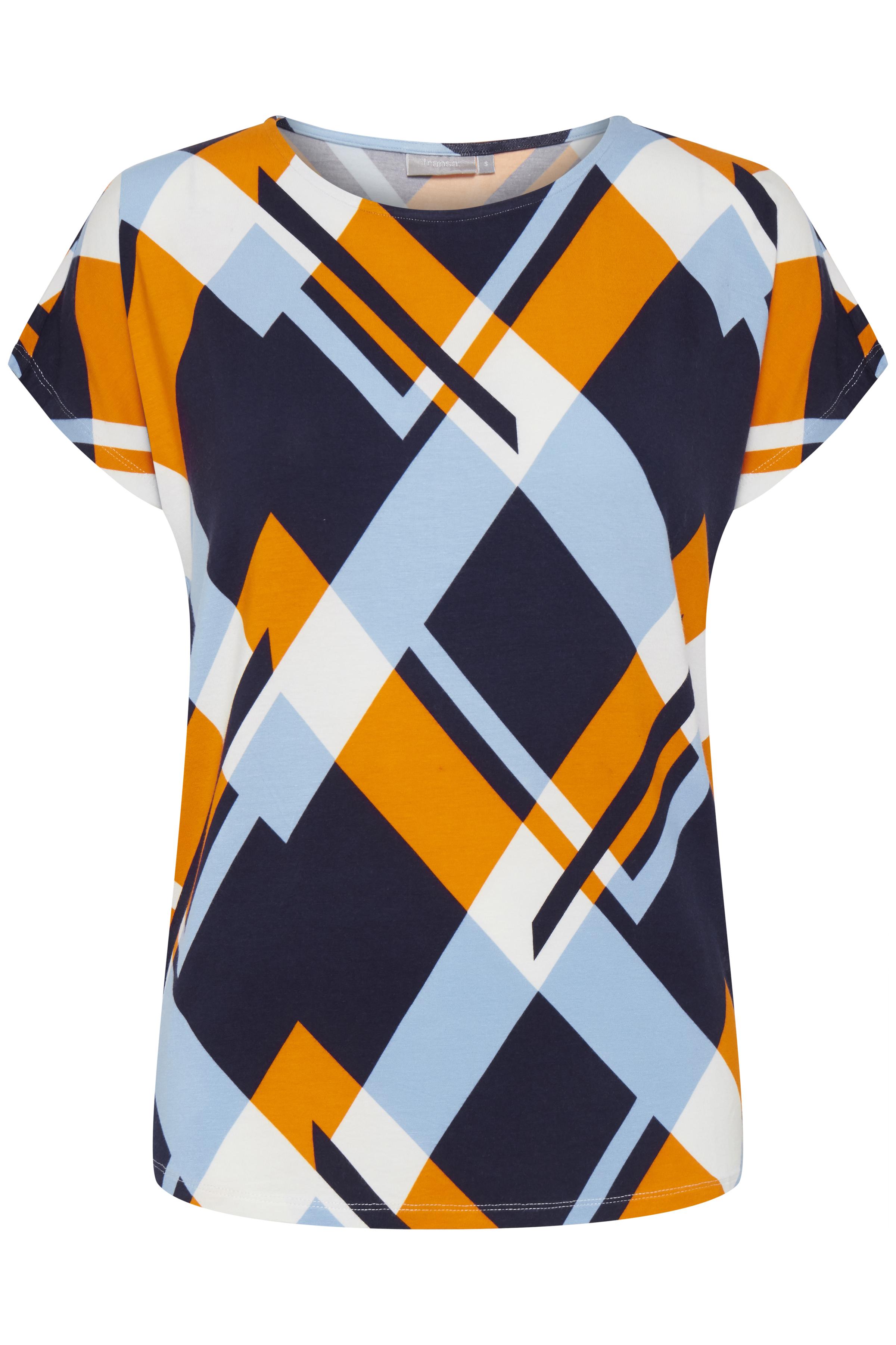 Marineblau/orange