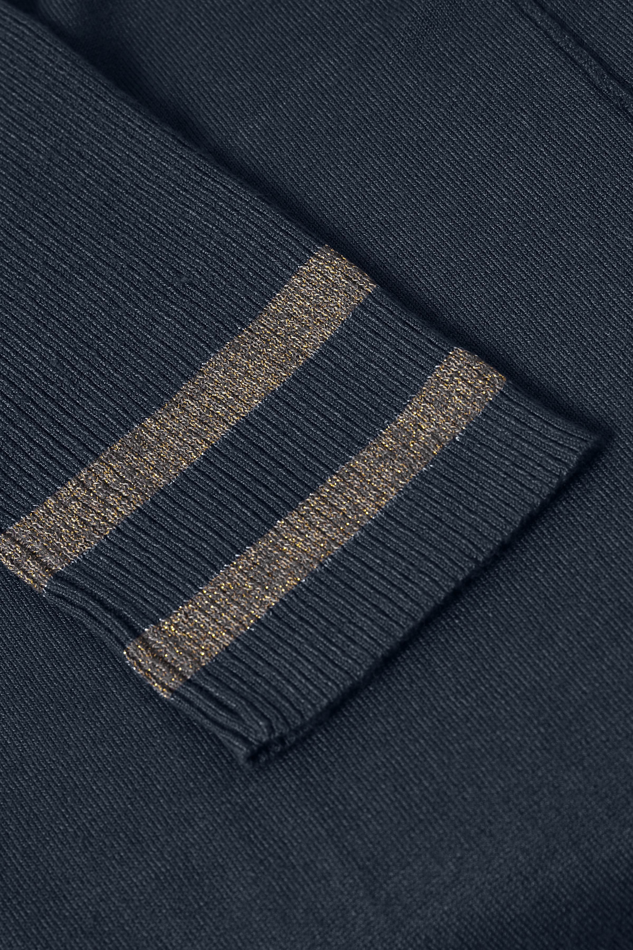Marineblau Stricktunika von Bon'A Parte – Shoppen Sie Marineblau Stricktunika ab Gr. S-2XL hier