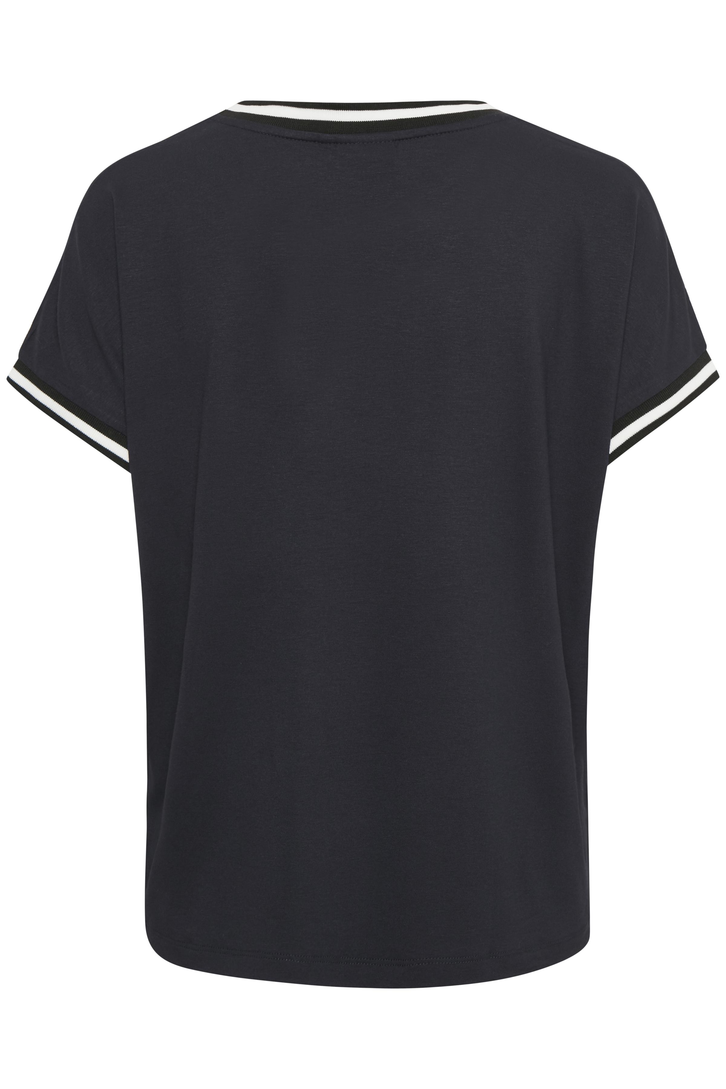 Marineblau/weiß Kurzarm T-Shirt von b.young – Shoppen Sie Marineblau/weiß Kurzarm T-Shirt ab Gr. XS-XXL hier