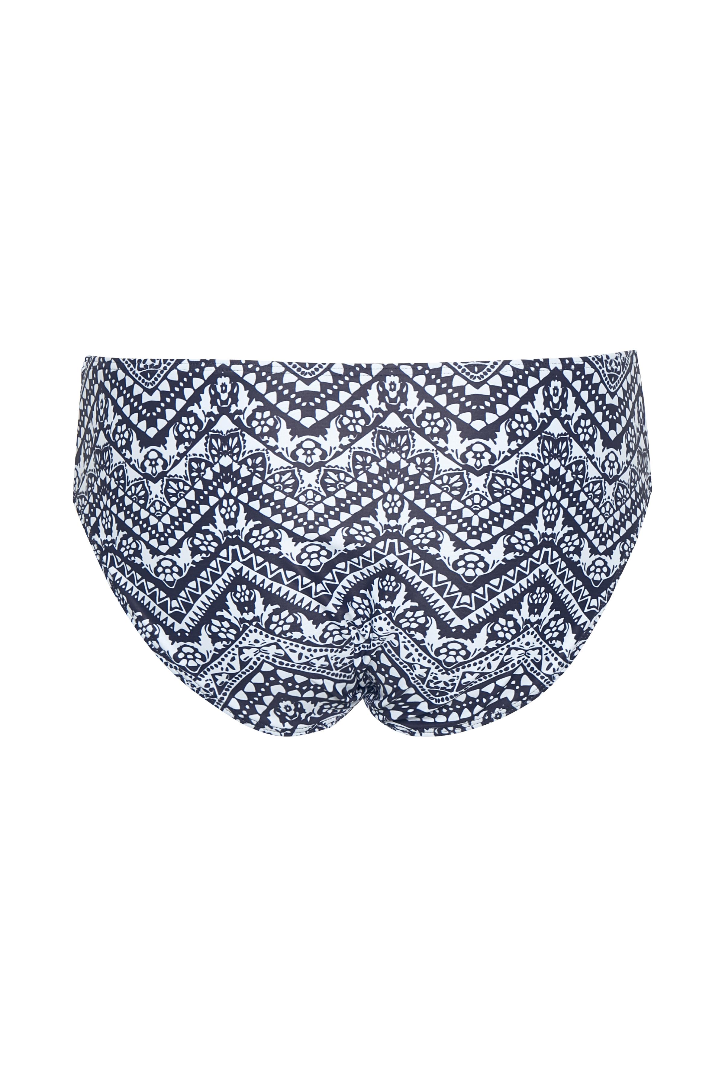 Marineblau/weiss Bikini-Höschen von Bon'A Parte – Shoppen SieMarineblau/weiss Bikini-Höschen ab Gr. 36-48 hier