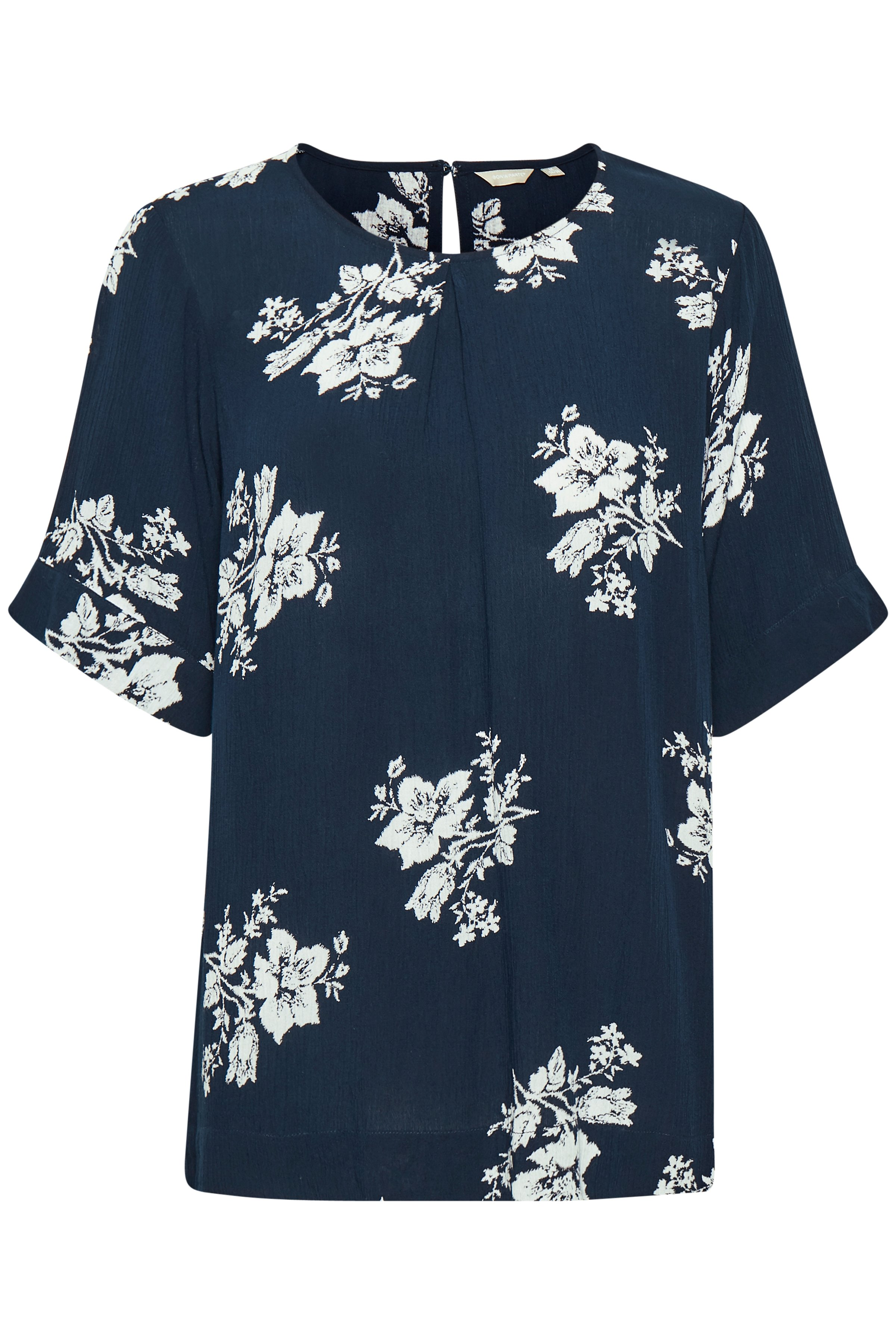 Marineblau/wollweiss Bluse von Bon'A Parte – Shoppen SieMarineblau/wollweiss Bluse ab Gr. S-2XL hier