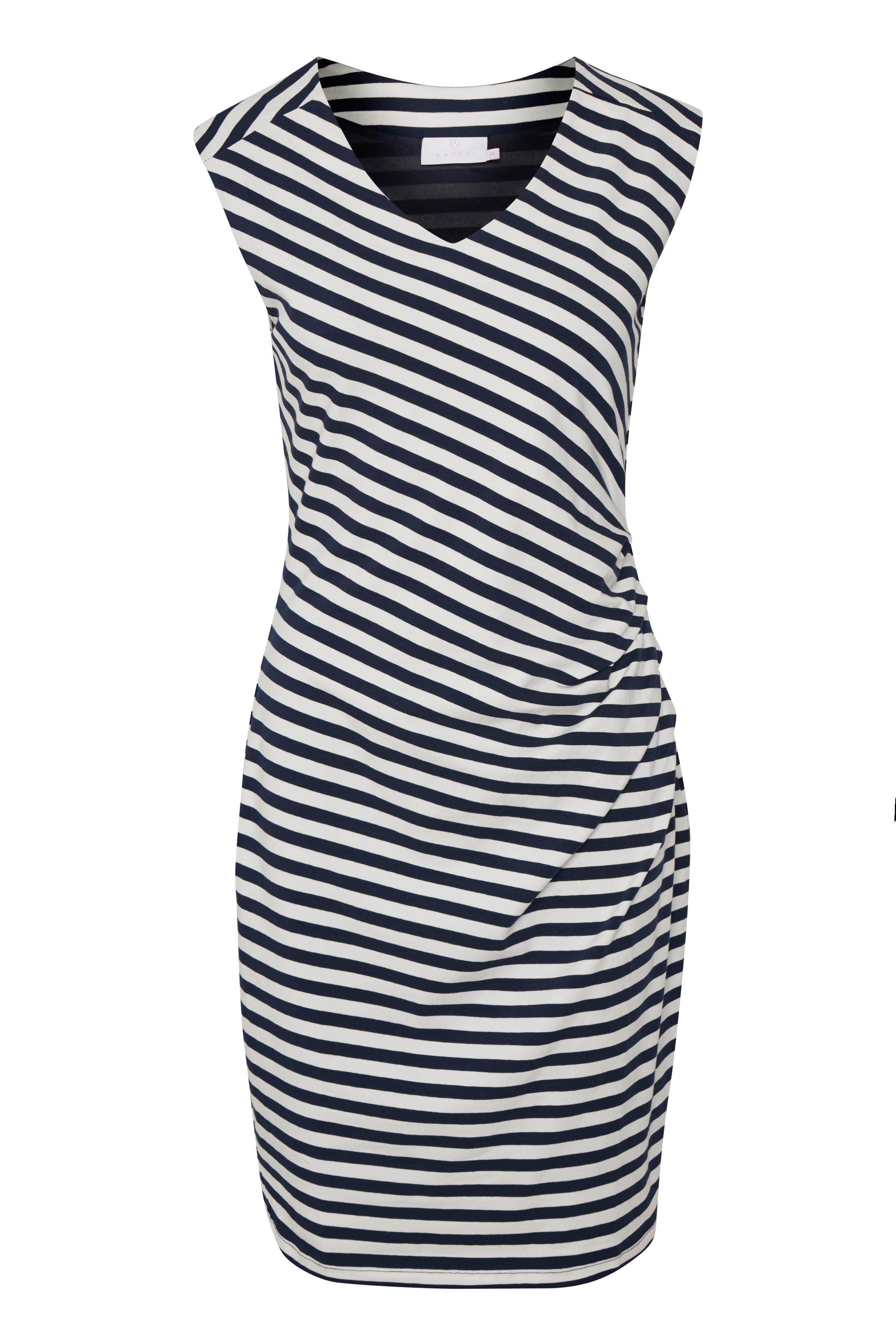 Marineblau/wollweiss Kleid von Kaffe – Shoppen SieMarineblau/wollweiss Kleid ab Gr. XS-XXL hier