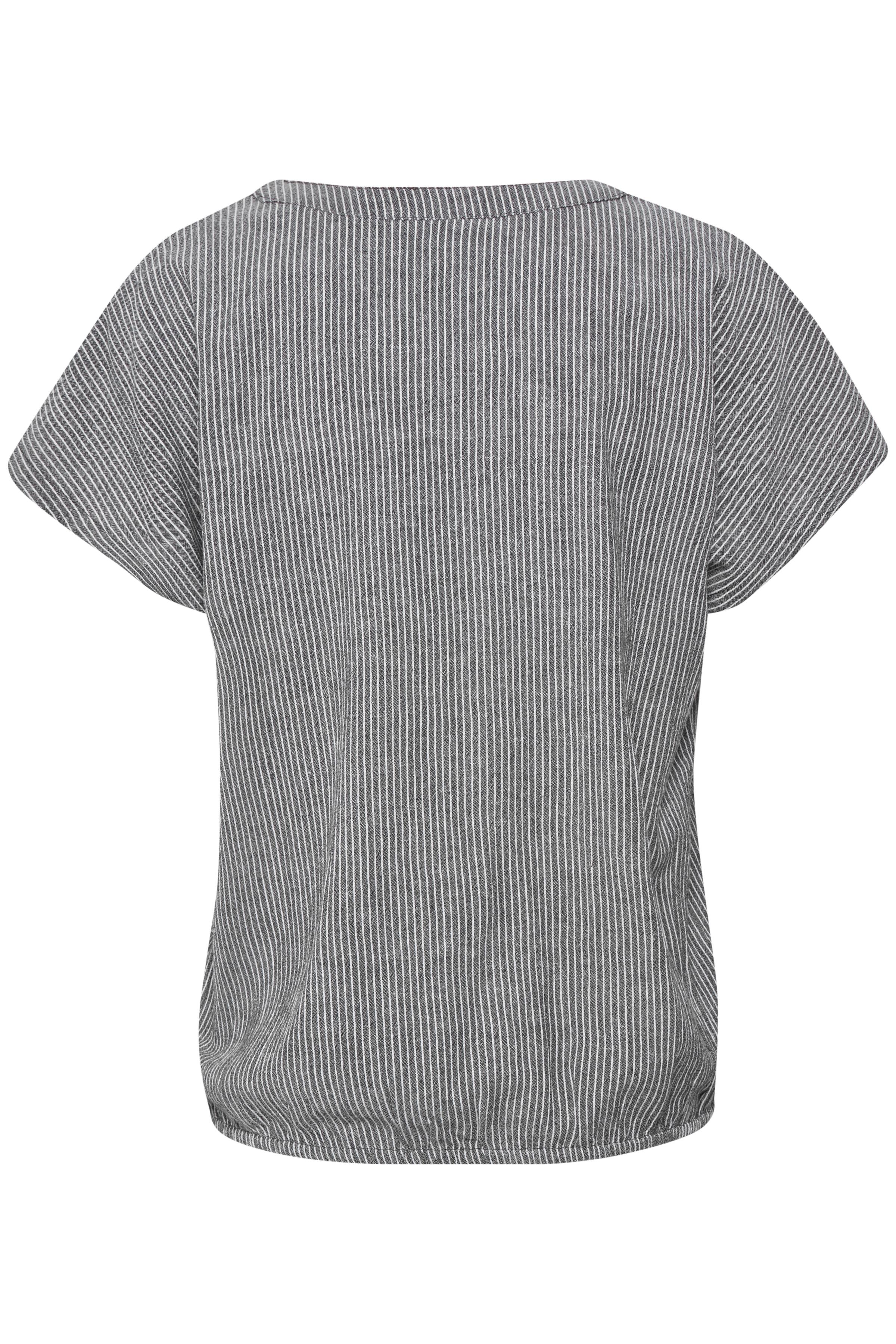 Marineblau/wollweiss Kurzarm-Bluse von Kaffe – Shoppen SieMarineblau/wollweiss Kurzarm-Bluse ab Gr. 34-46 hier