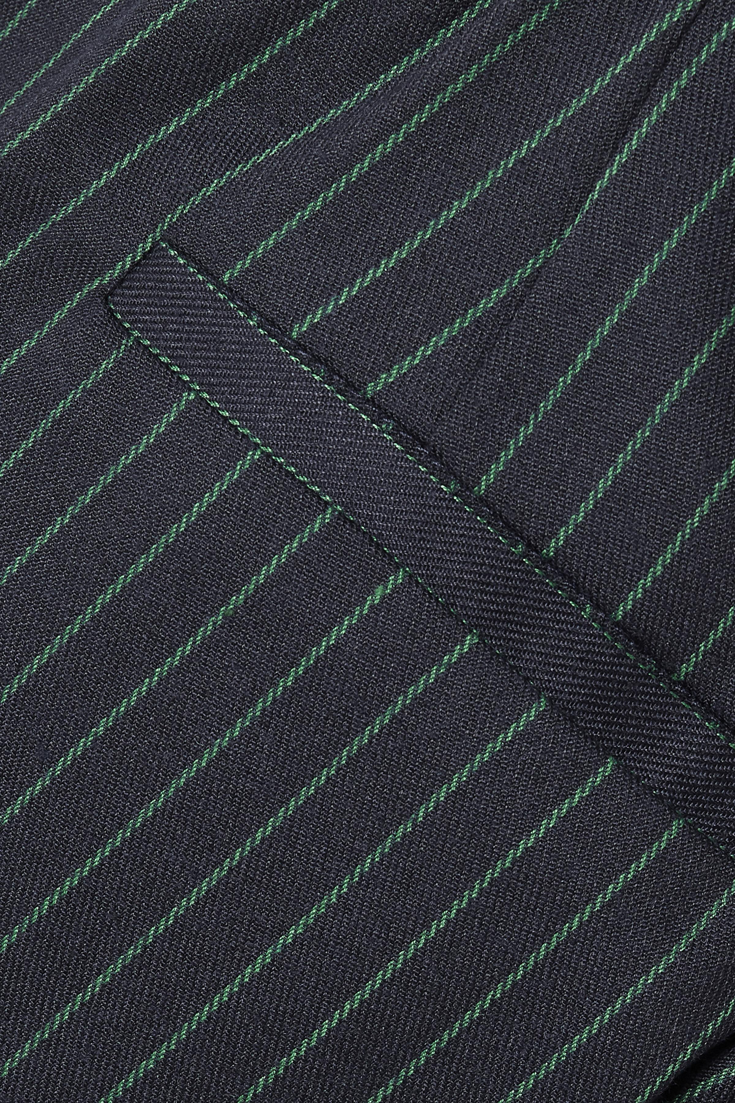 Marineblauw/misty groen Broek van Kaffe – Door Marineblauw/misty groen Broek van maat. 34-46 hier