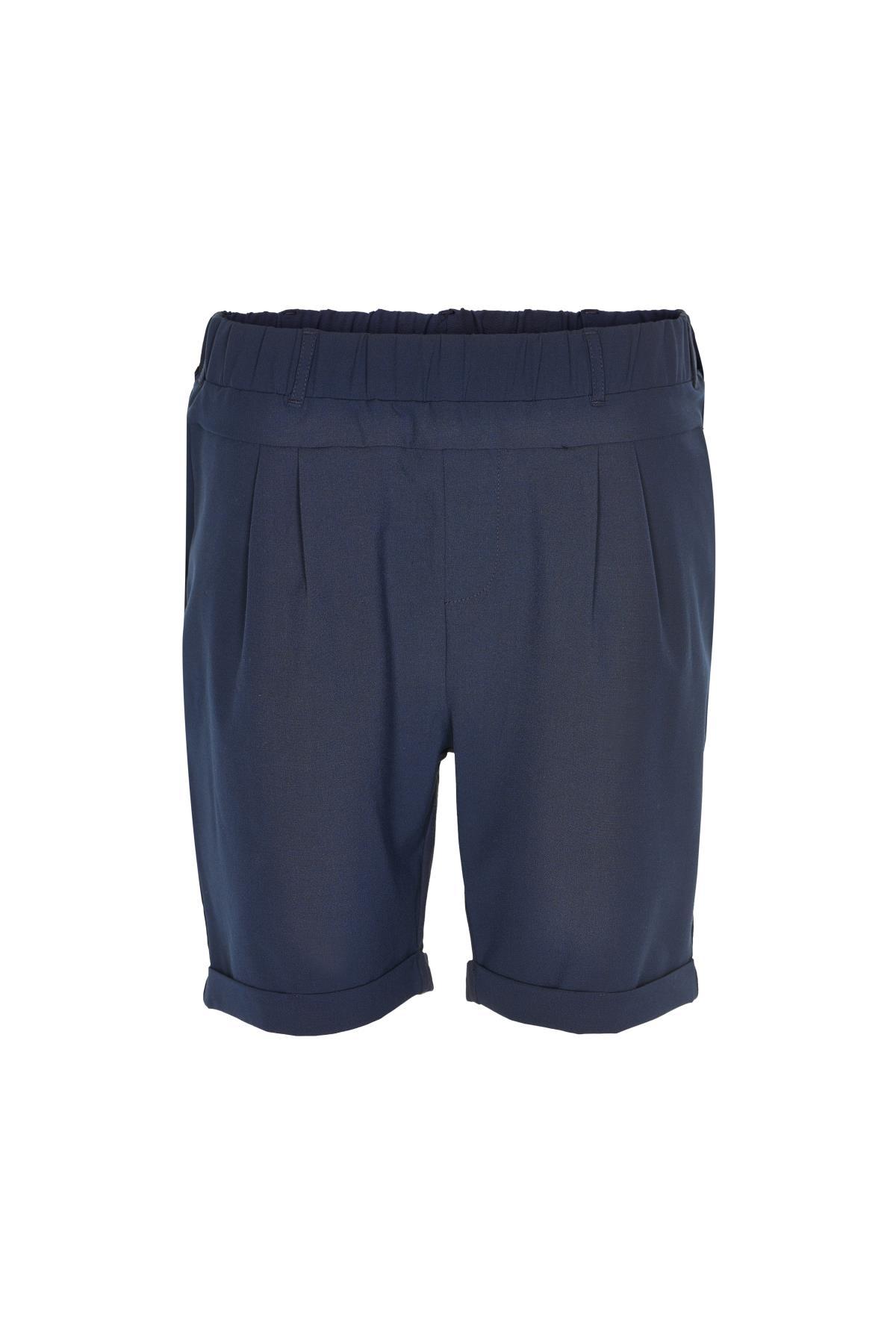 Marineblauw Short van Kaffe – Door Marineblauw Short van maat. 32-46 hier