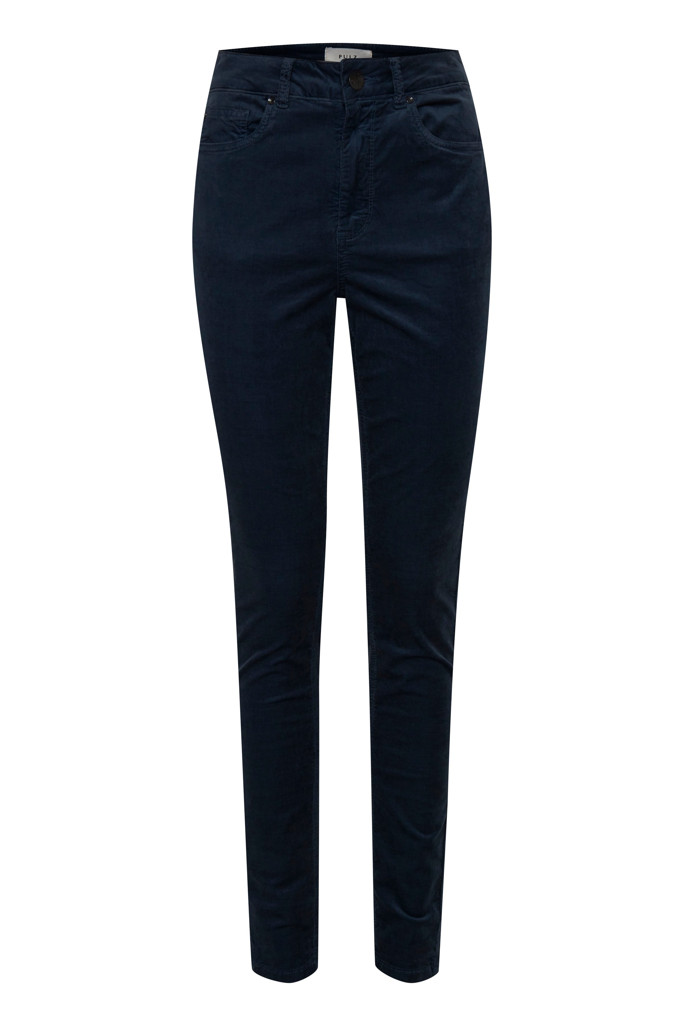 Pulz Jeans Dame Casual broek Midnight Navy