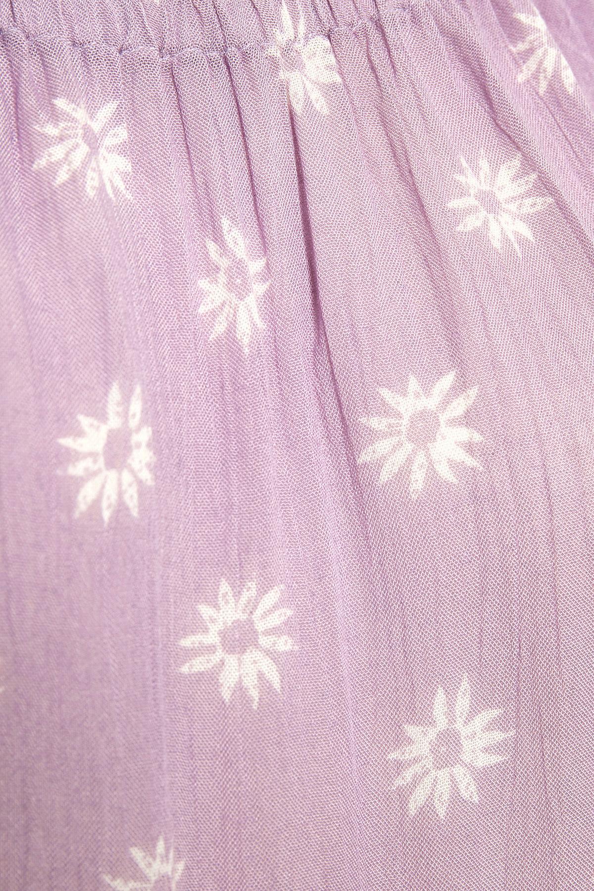 Misty paars Blouse met korte mouwen van Bon'A Parte – Door Misty paars Blouse met korte mouwen van maat. S-2XL hier
