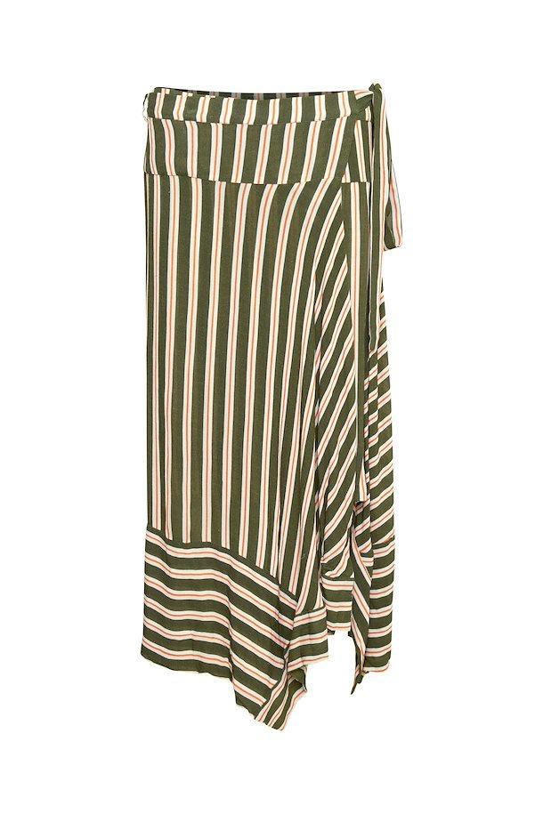 dec32b4206b6 Mørk armygrøn off-white Nederdel fra Cream – Køb Mørk armygrøn off-white  Nederdel fra str. 34-46 her