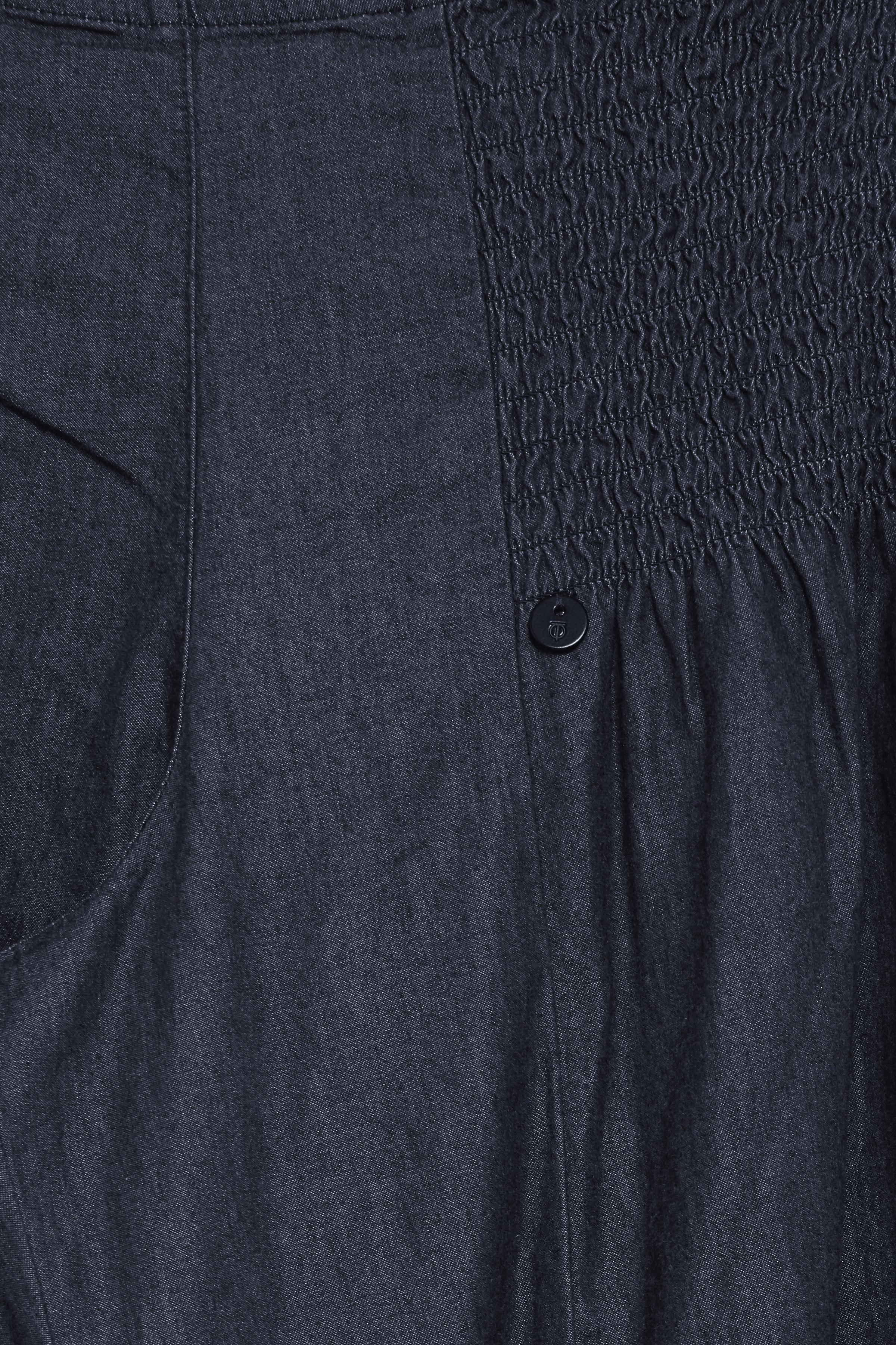 Mørk denimblå Casual bukser fra Pulz Jeans – Køb Mørk denimblå Casual bukser fra str. XS-XXL her