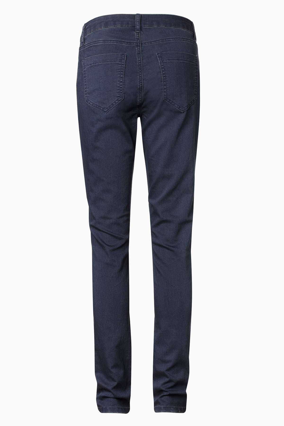 Mørk denimblå Casual bukser fra Bon'A Parte – Køb Mørk denimblå Casual bukser fra str. 34-54 her