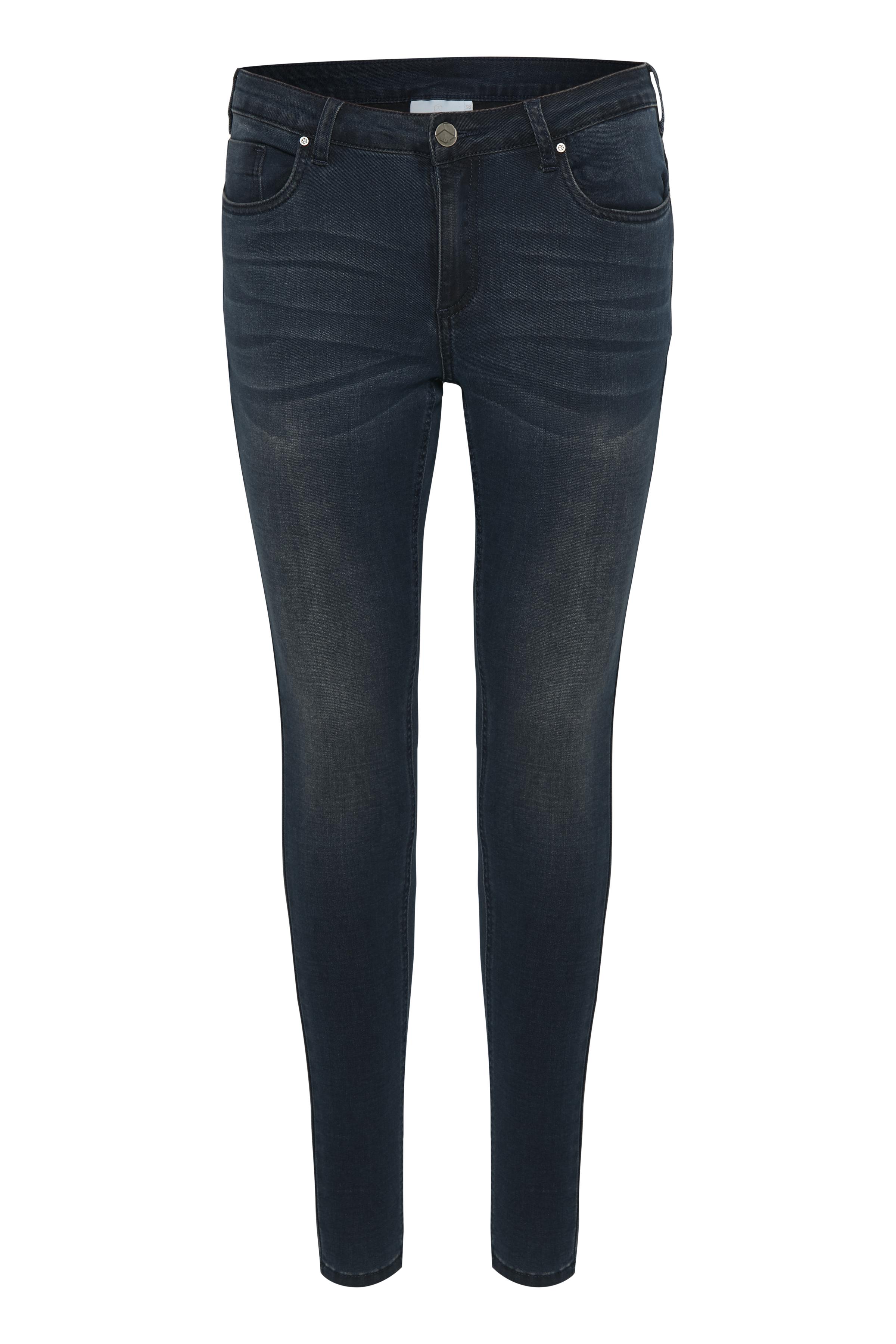 Billede af Kaffe Dame Skønne Grace jeans  - Mørk denimblå