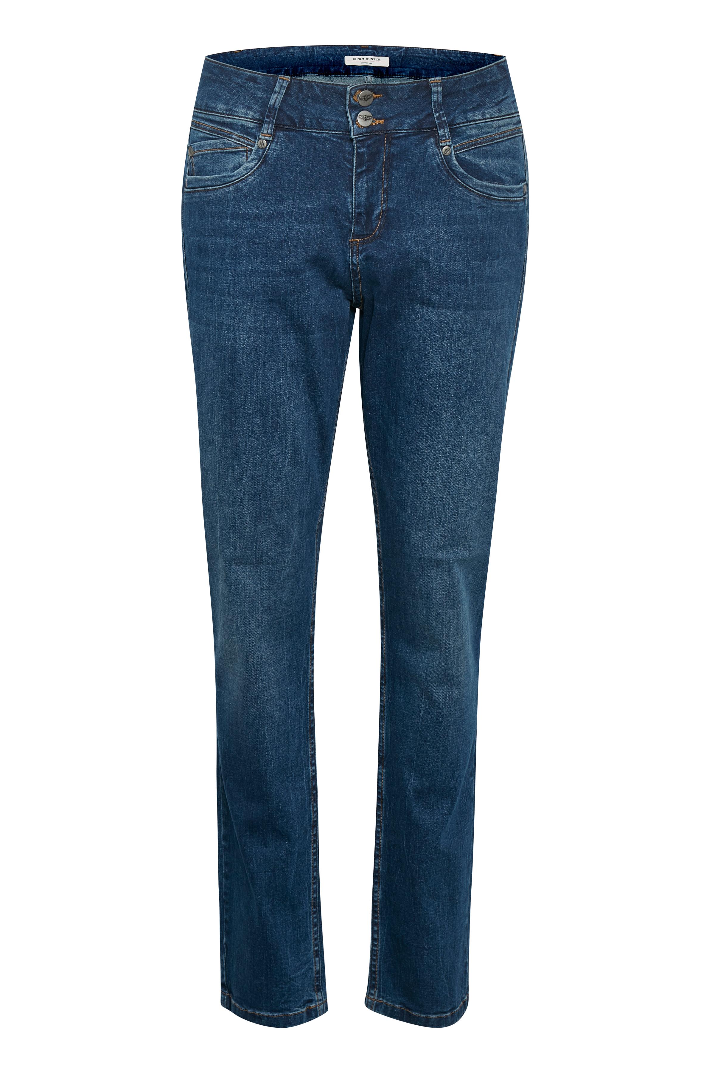 Image of Denim Hunter Dame Rose denim bukser - Mørk denimblå